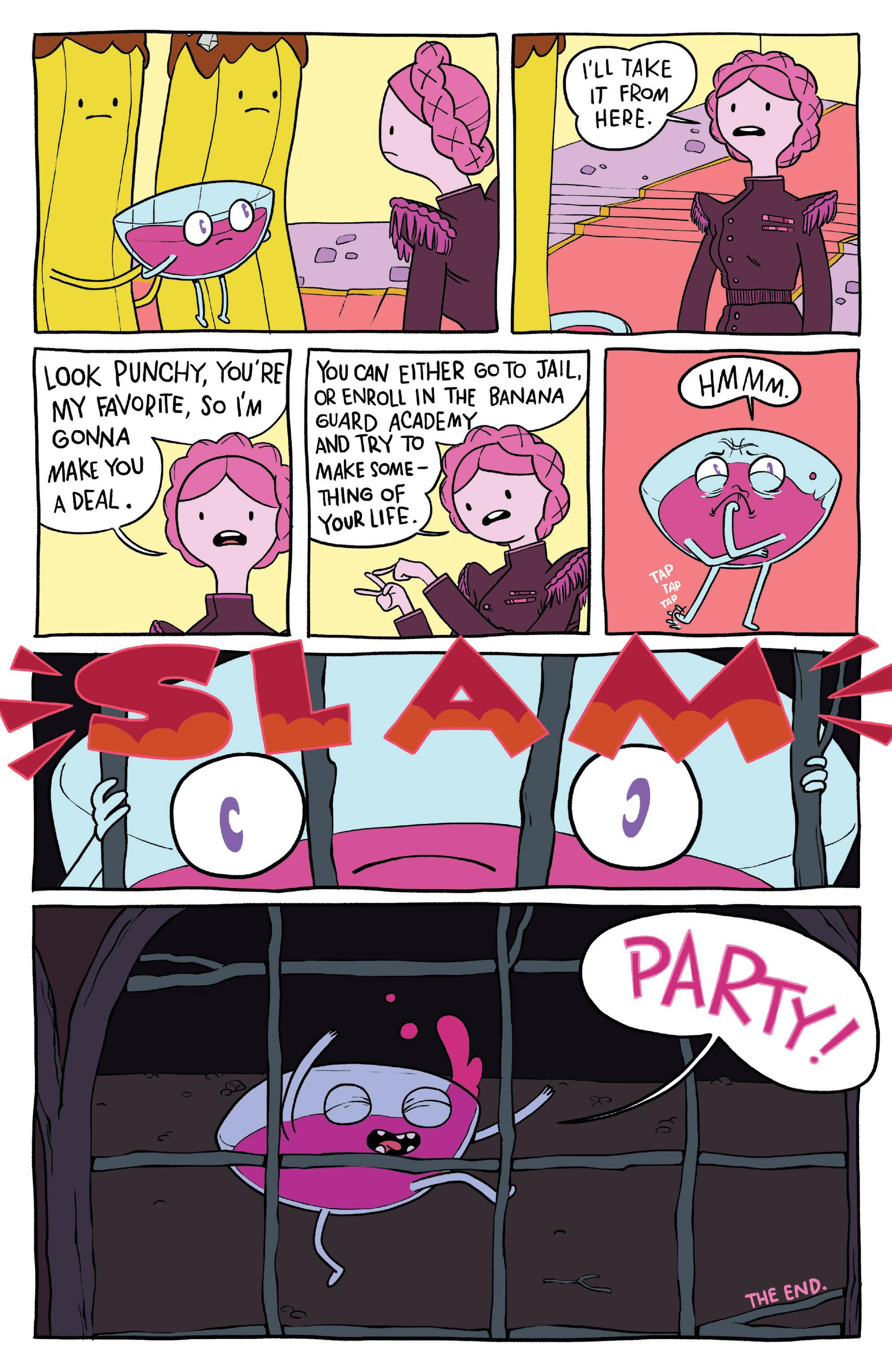 Read online Adventure Time: Banana Guard Academ comic -  Issue #1 - 24