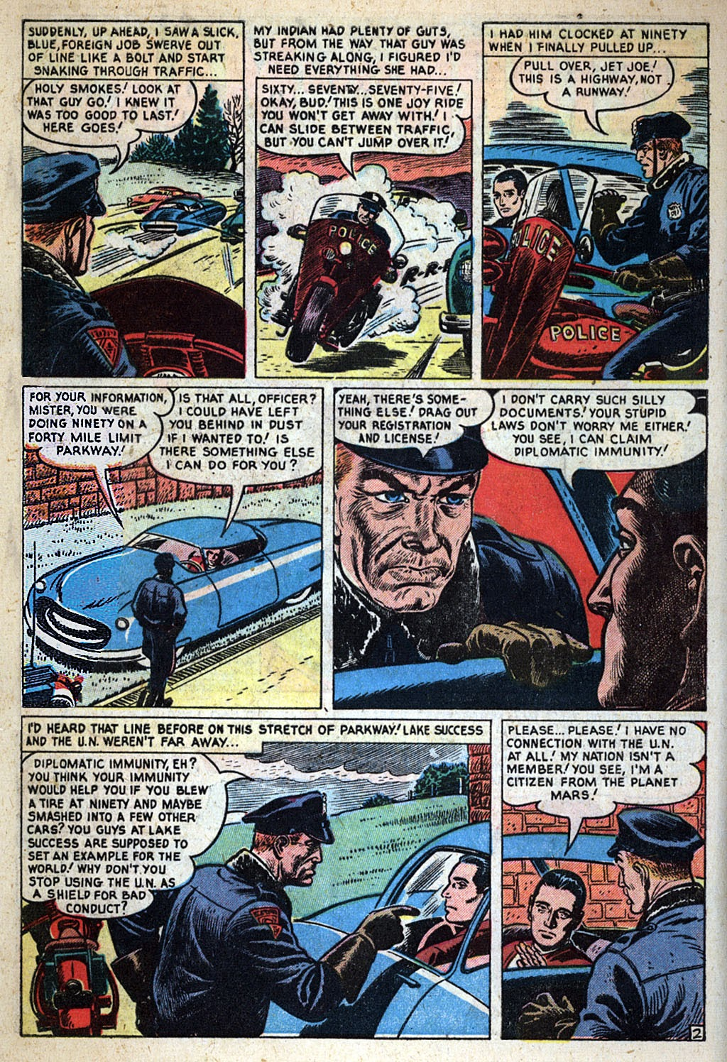 Journey Into Unknown Worlds (1950) issue 4 - Page 4