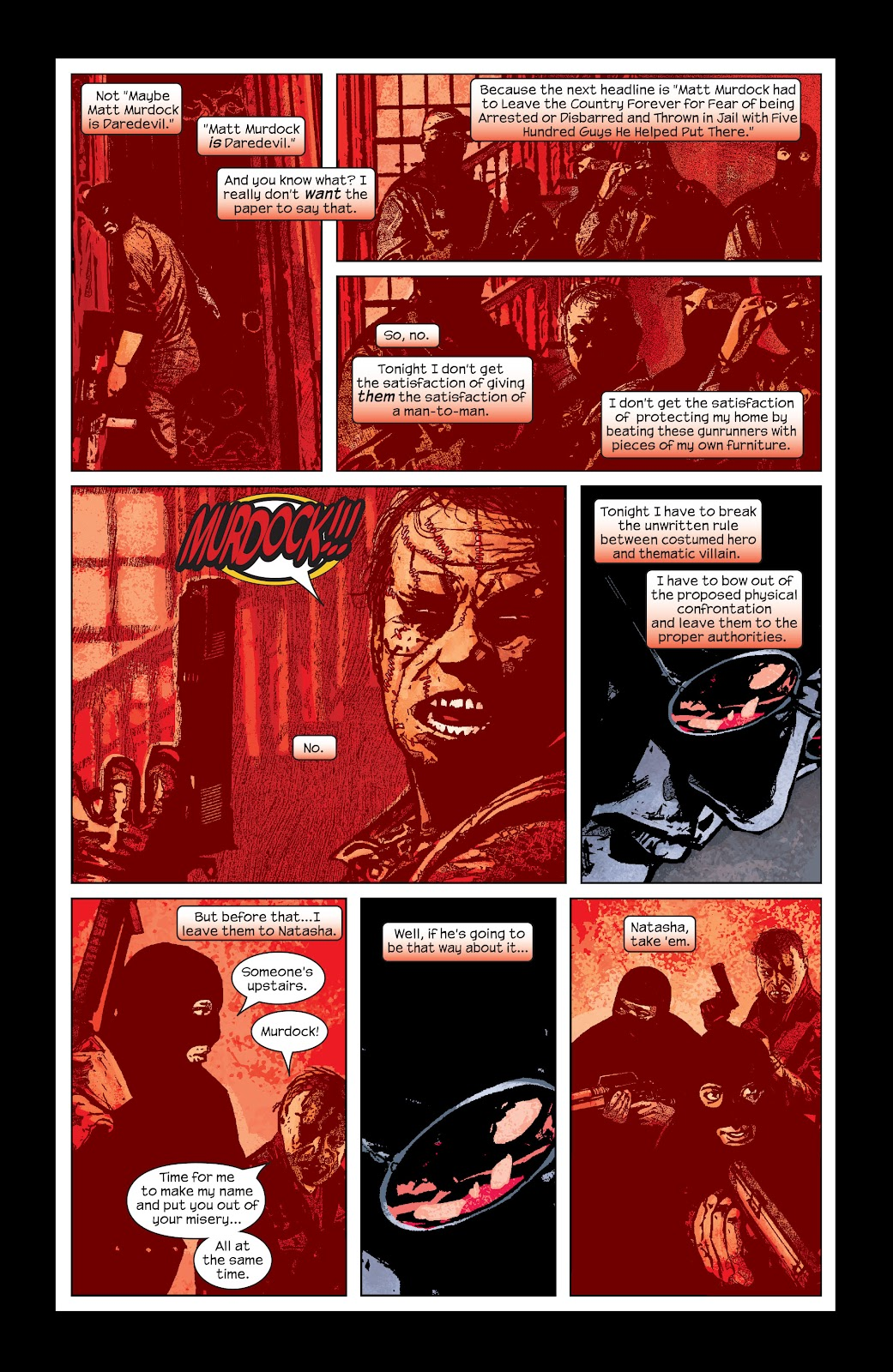 Read online Daredevil (1998) comic -  Issue # _Ultimate_Collection TPB 2 (Part 5) - 10