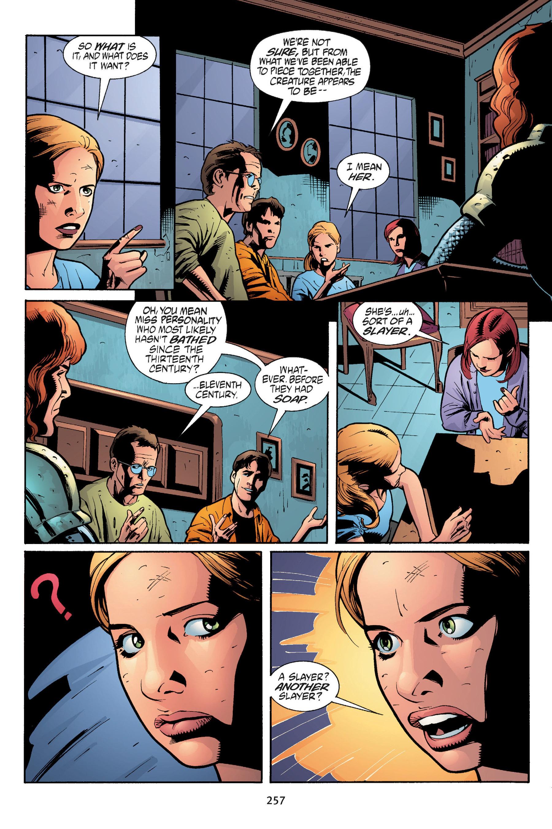 Read online Buffy the Vampire Slayer: Omnibus comic -  Issue # TPB 5 - 256