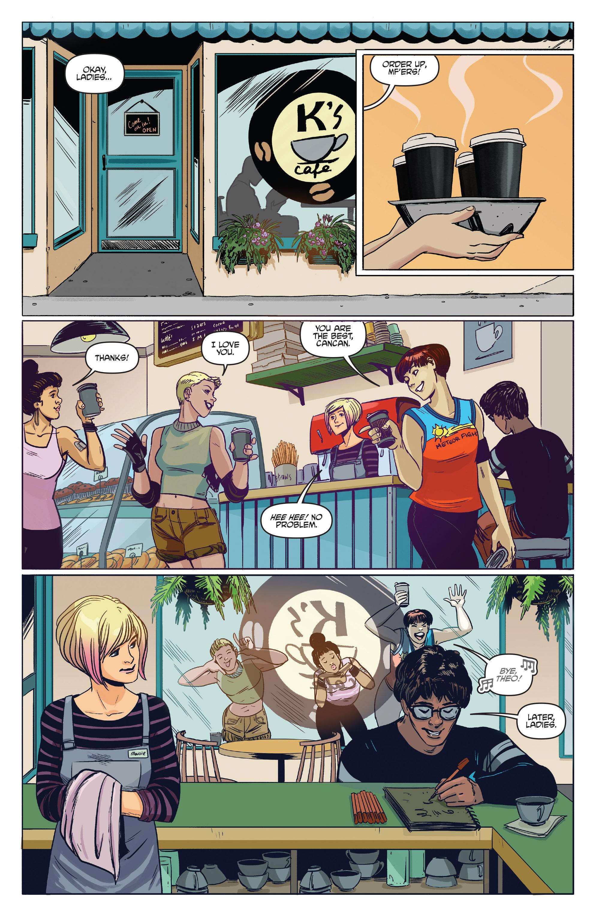 Read online Slam! comic -  Issue #3 - 10