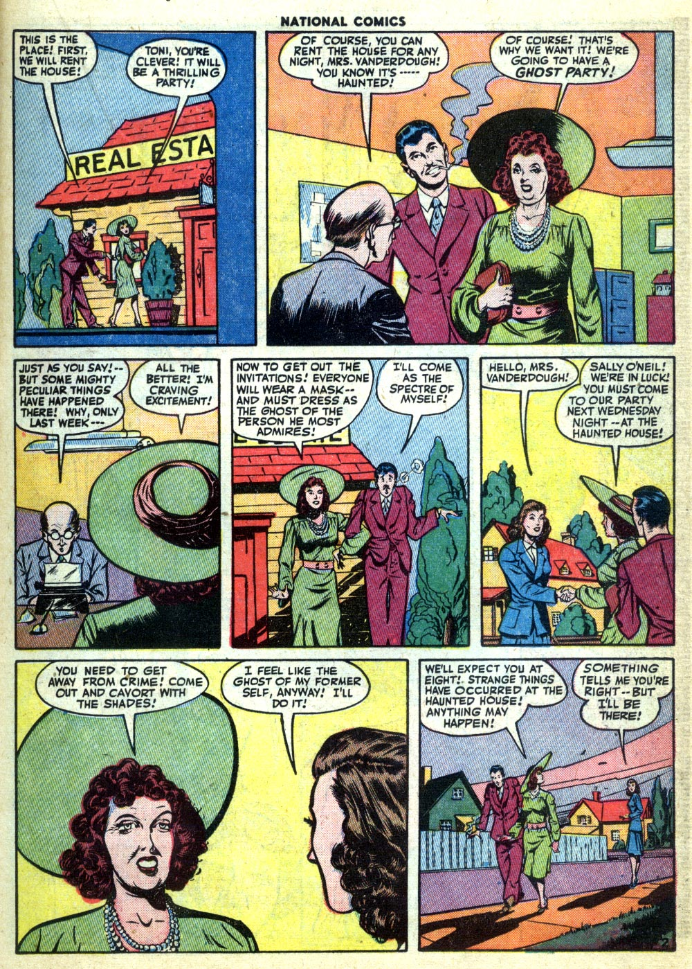 National Comics (1940) issue 47 - Page 23