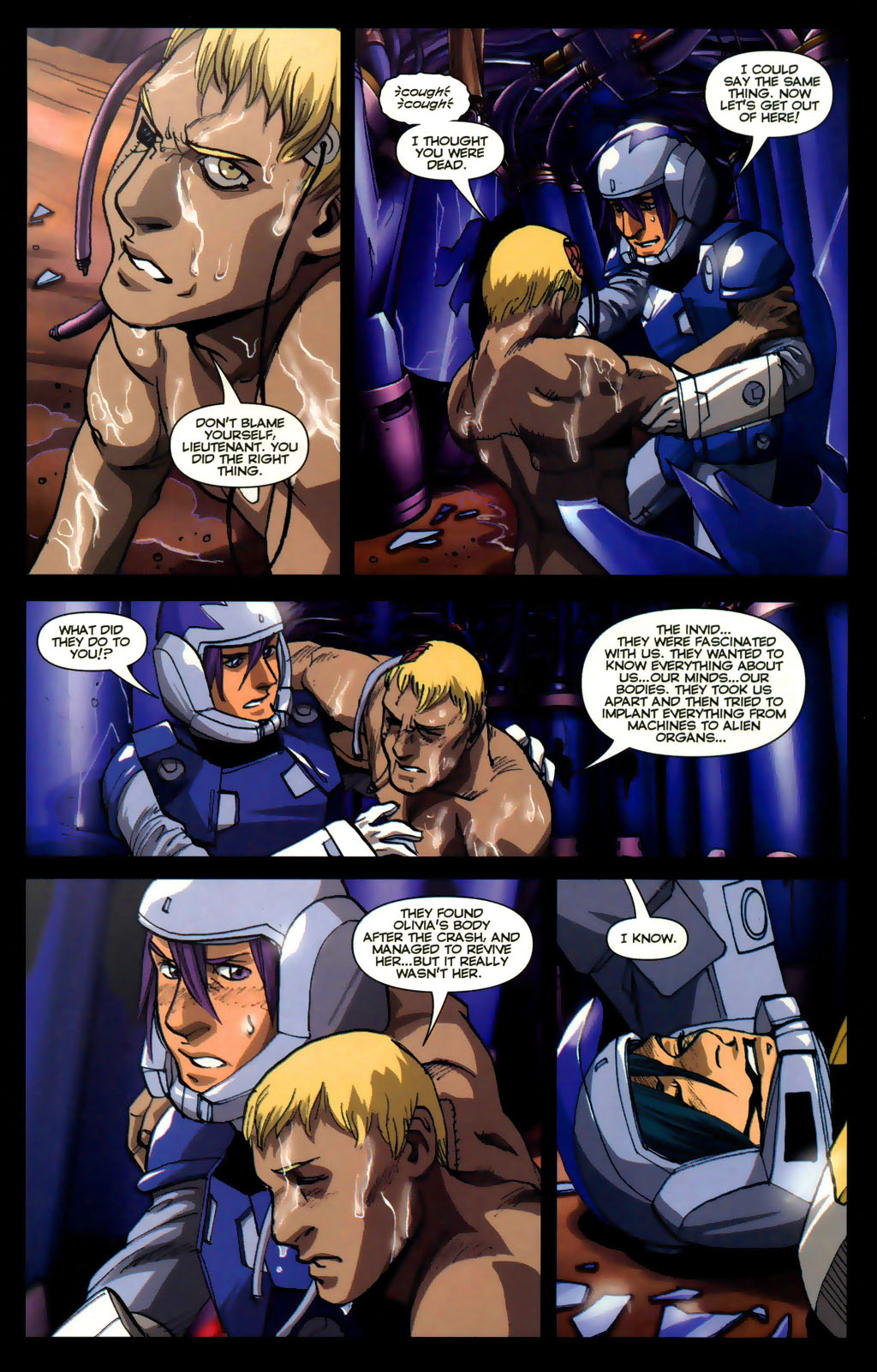 Read online Robotech: Invasion comic -  Issue #5 - 5