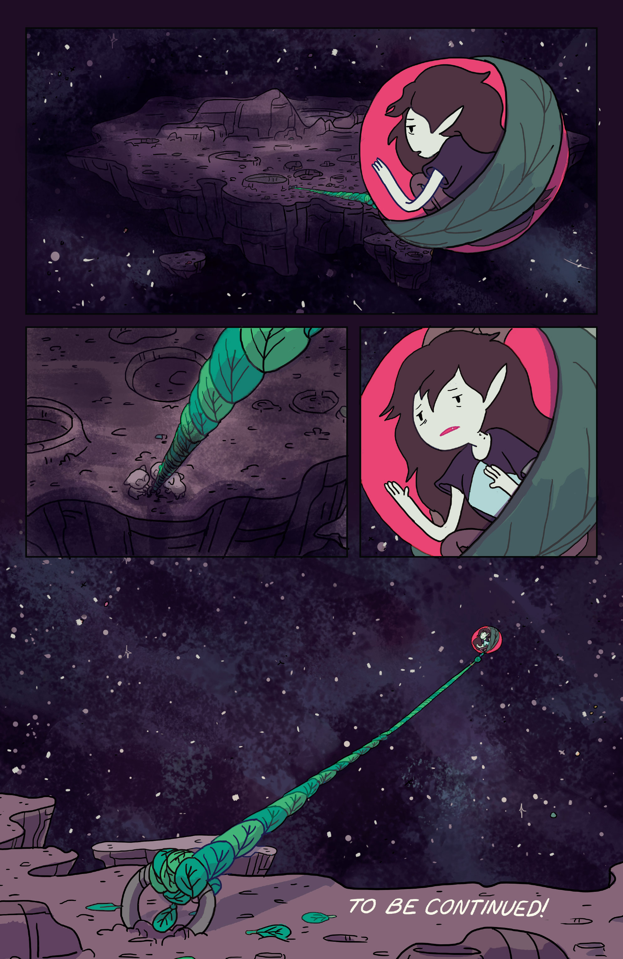 Read online Adventure Time: Marceline Gone Adrift comic -  Issue #2 - 24