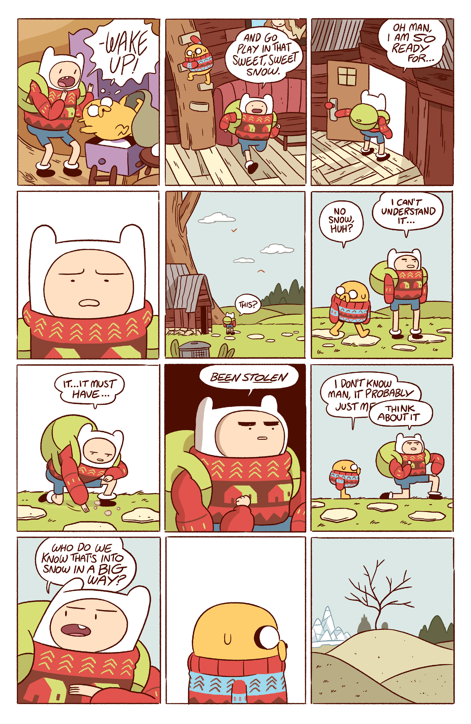 Read online Adventure Time 2014 Winter Special comic -  Issue #Adventure Time 2014 Winter Special Full - 6
