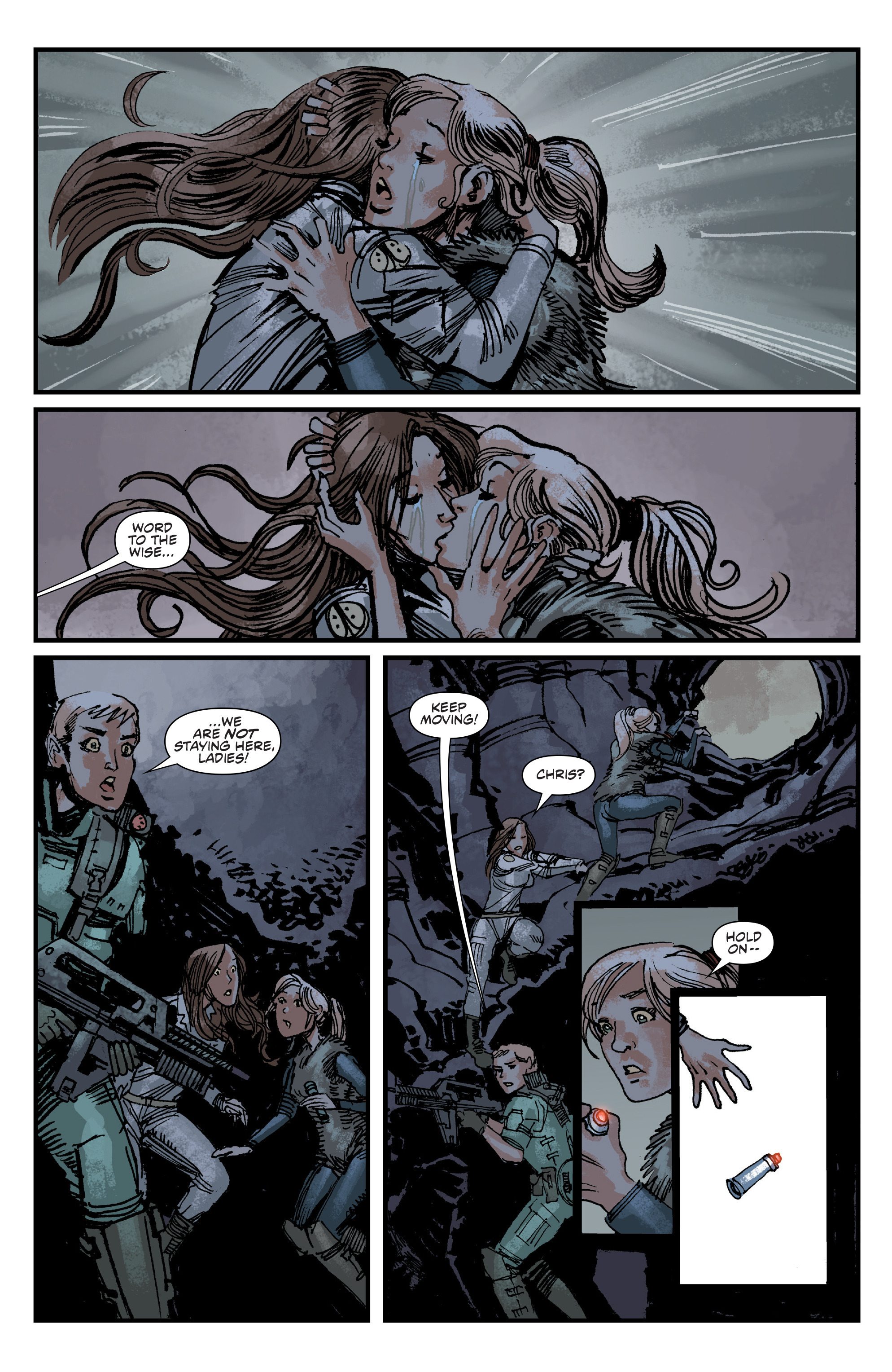Read online Aliens: Life And Death comic -  Issue #4 - 19