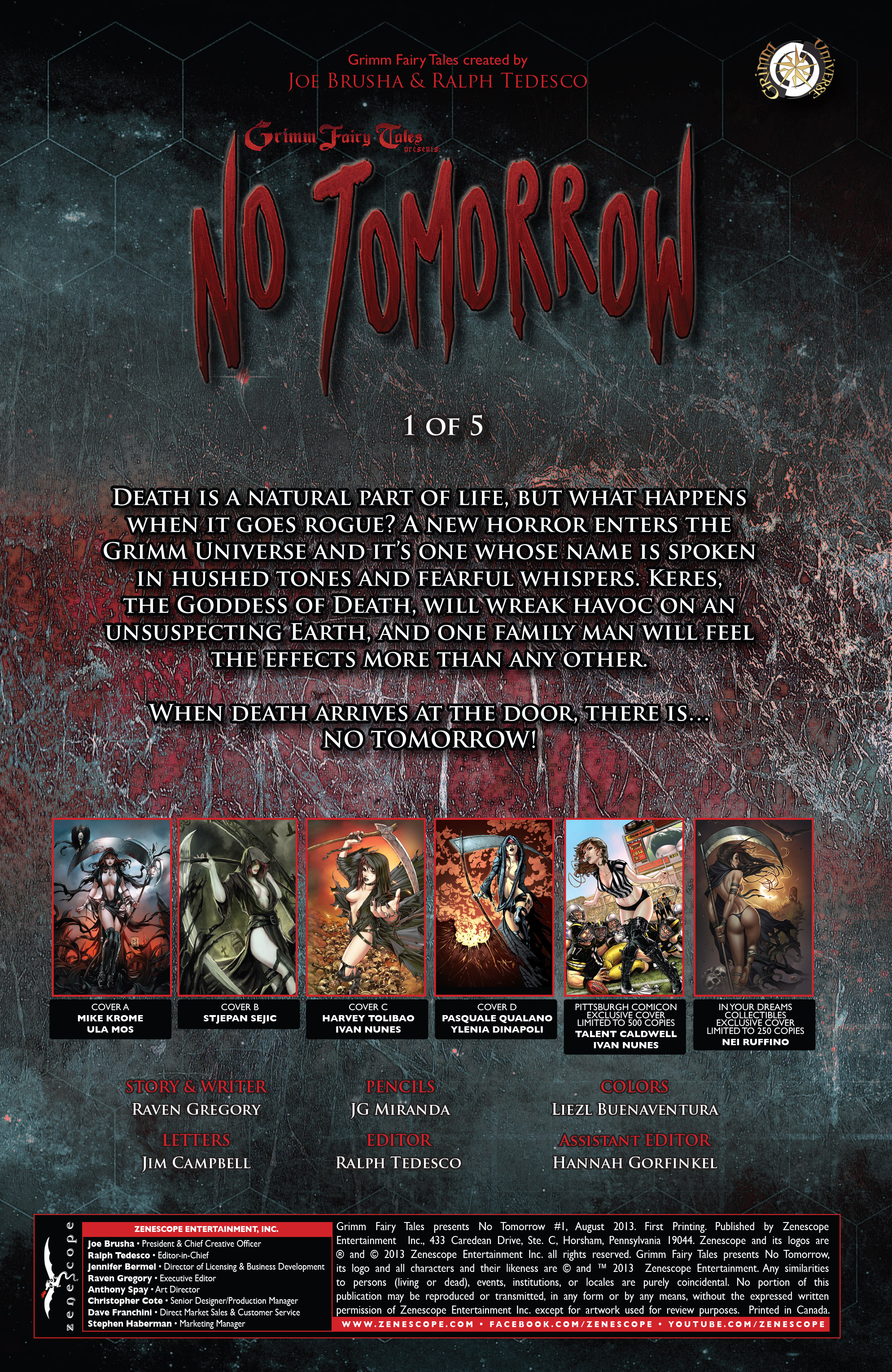 Read online Grimm Fairy Tales presents No Tomorrow comic -  Issue # TPB - 6