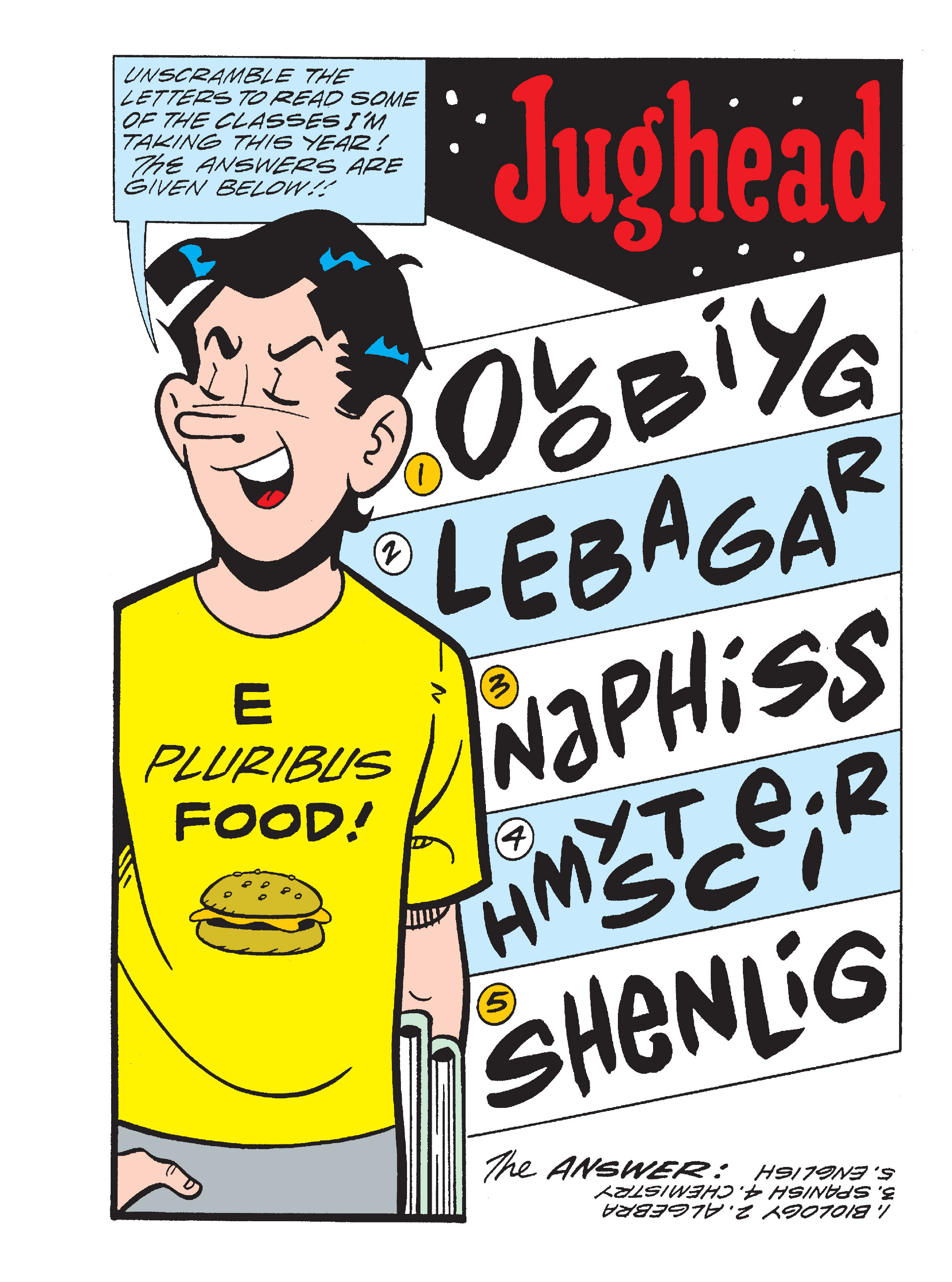 Read online Archie's Funhouse Double Digest comic -  Issue #17 - 144
