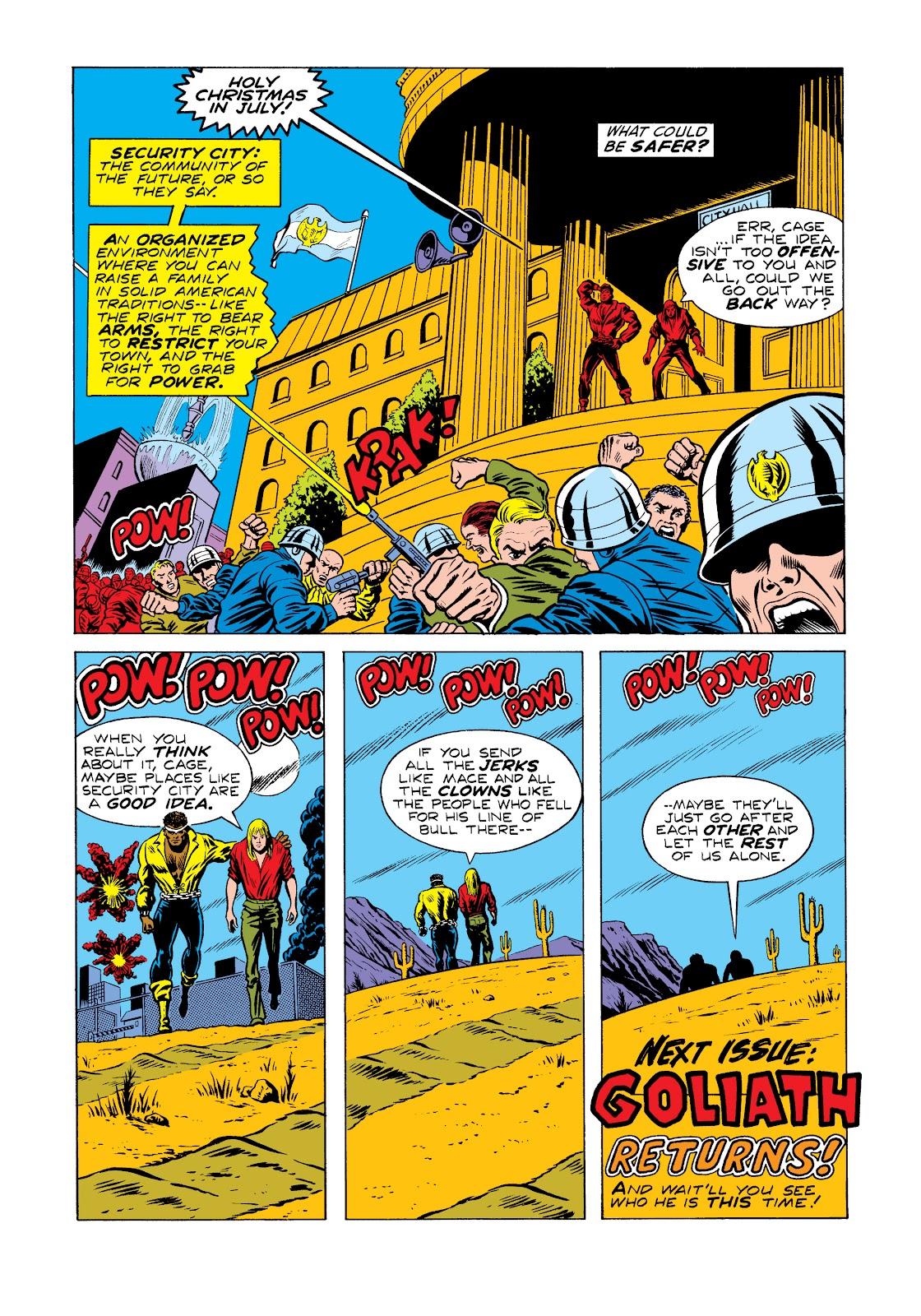 Read online Marvel Masterworks: Luke Cage, Power Man comic -  Issue # TPB 2 (Part 2) - 42