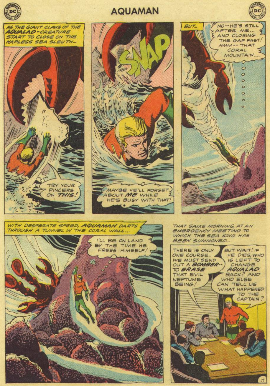 Read online Aquaman (1962) comic -  Issue #9 - 24