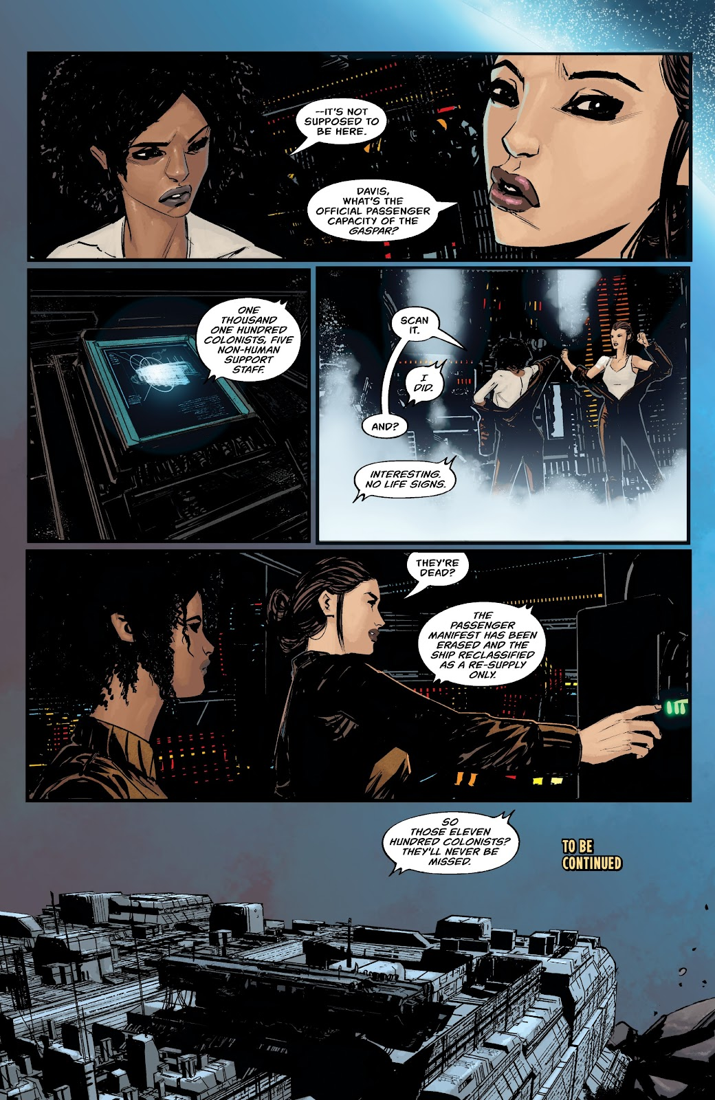 Read online Aliens: Resistance comic -  Issue #1 - 22