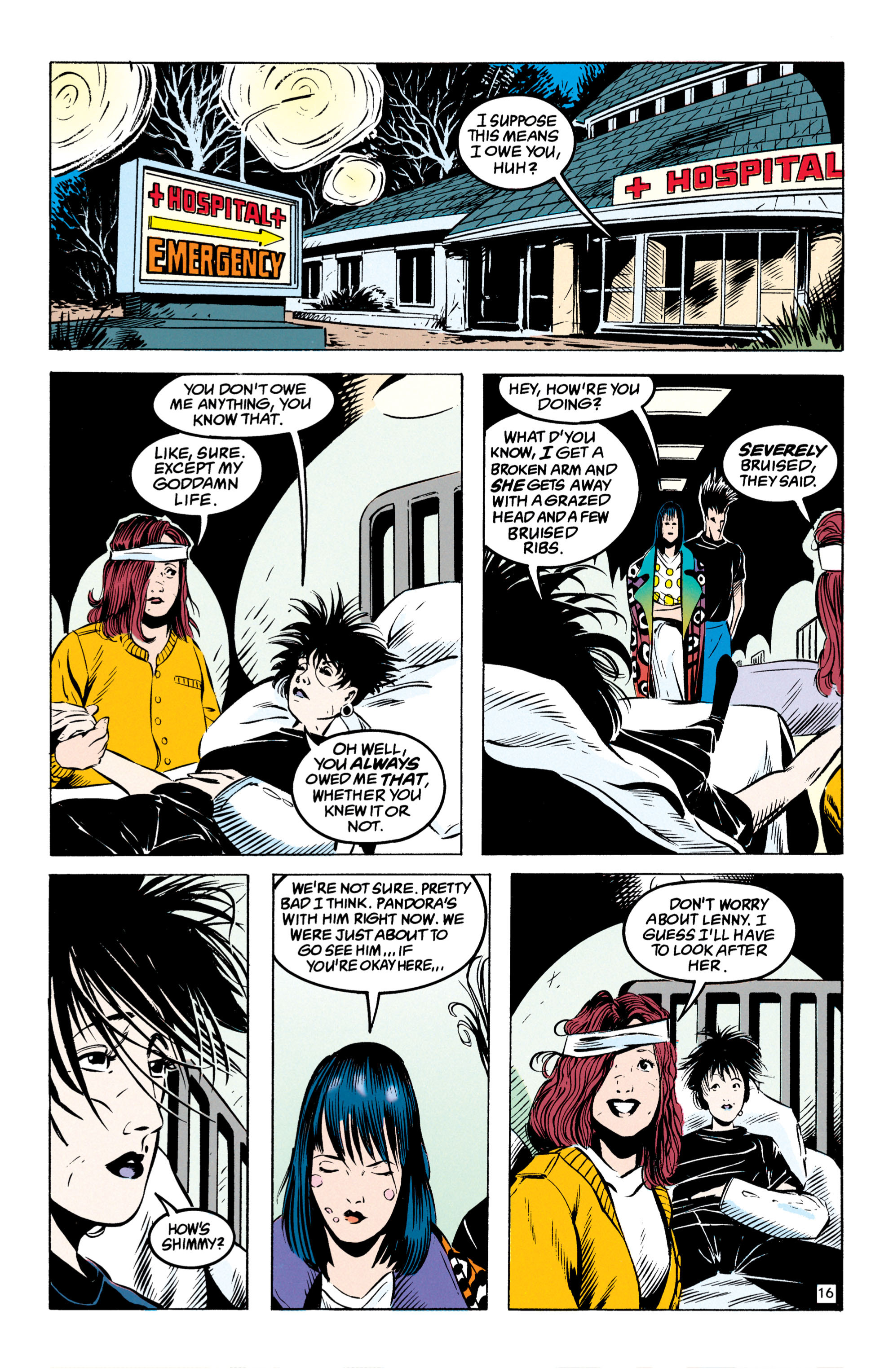 Read online Shade, the Changing Man comic -  Issue #49 - 17