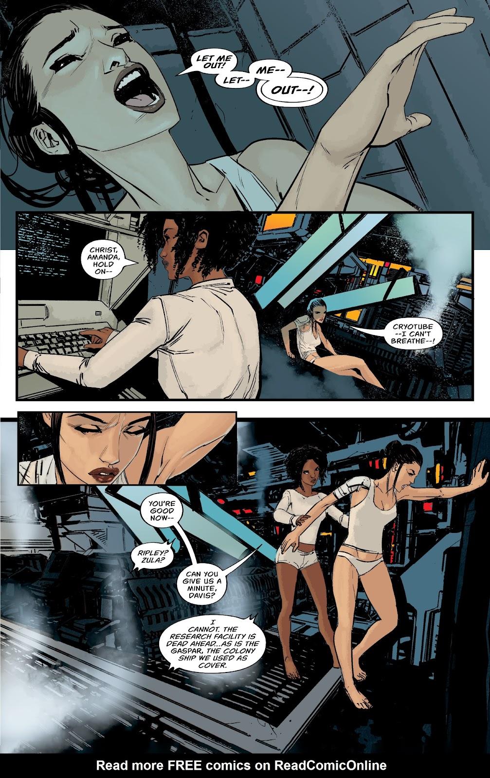 Read online Aliens: Resistance comic -  Issue #1 - 21