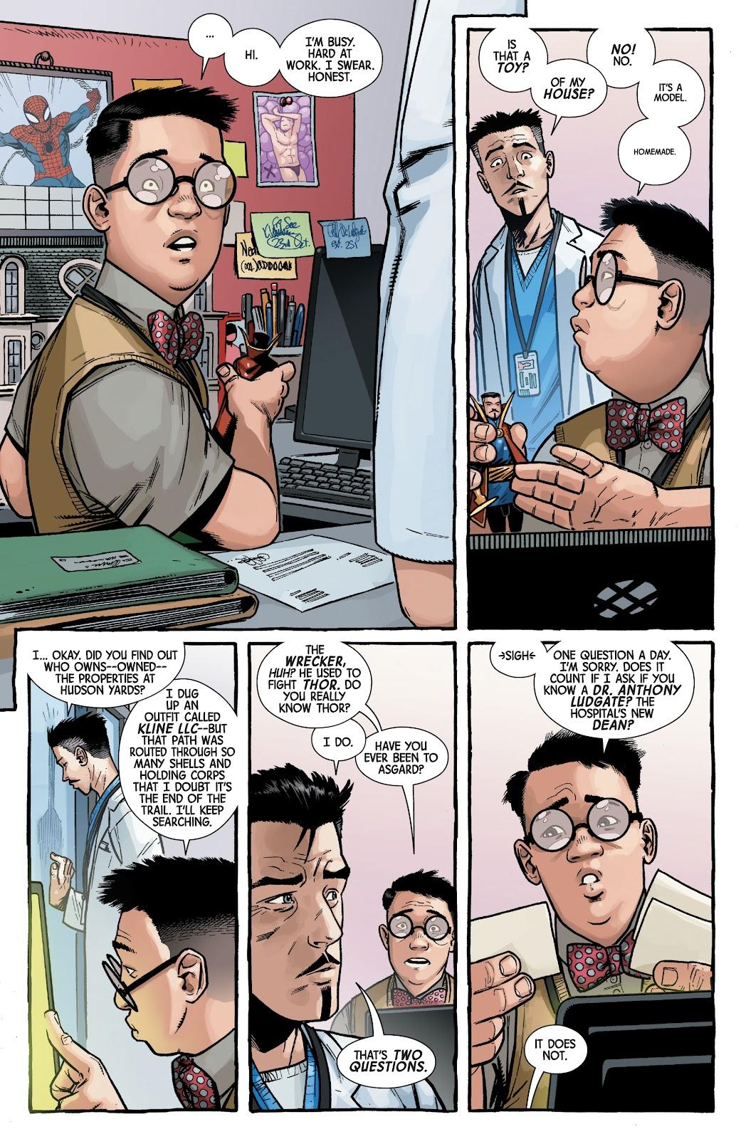 Read online Dr. Strange comic -  Issue #2 - 8