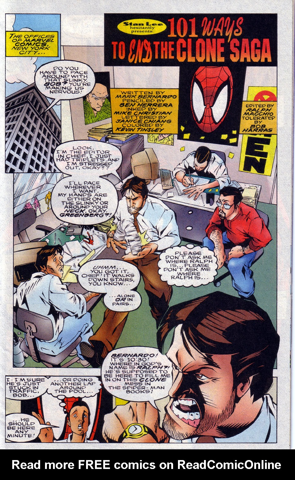 Read online 101 Ways to End the Clone Saga comic -  Issue #101 Ways to End the Clone Saga Full - 3