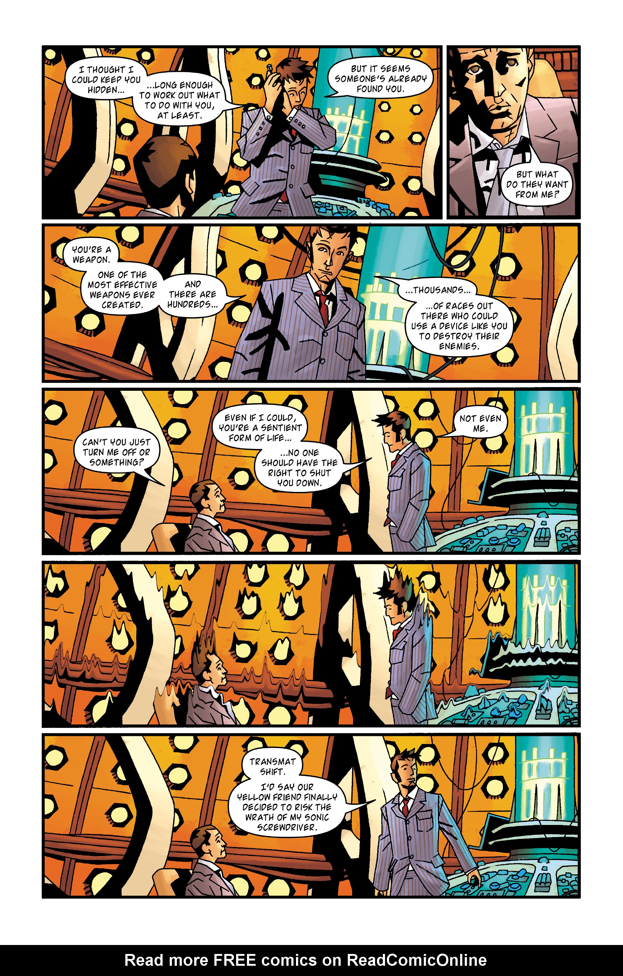 Read online Doctor Who: The Tenth Doctor Archives comic -  Issue #35 - 30