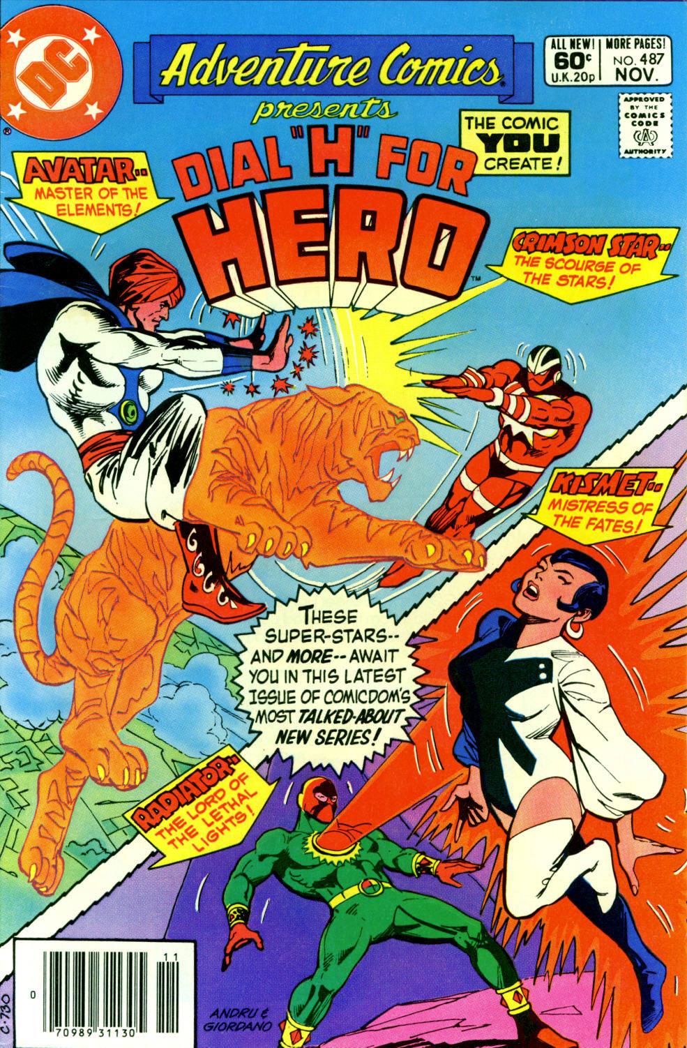 Read online Adventure Comics (1938) comic -  Issue #487 - 1
