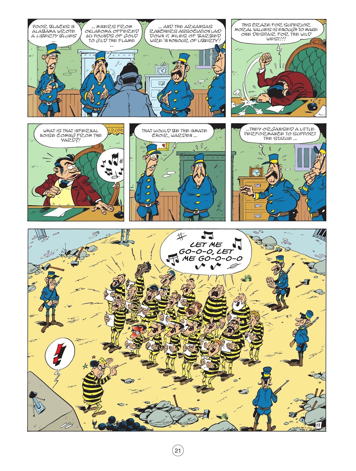 A Lucky Luke Adventure issue 71 - Page 23