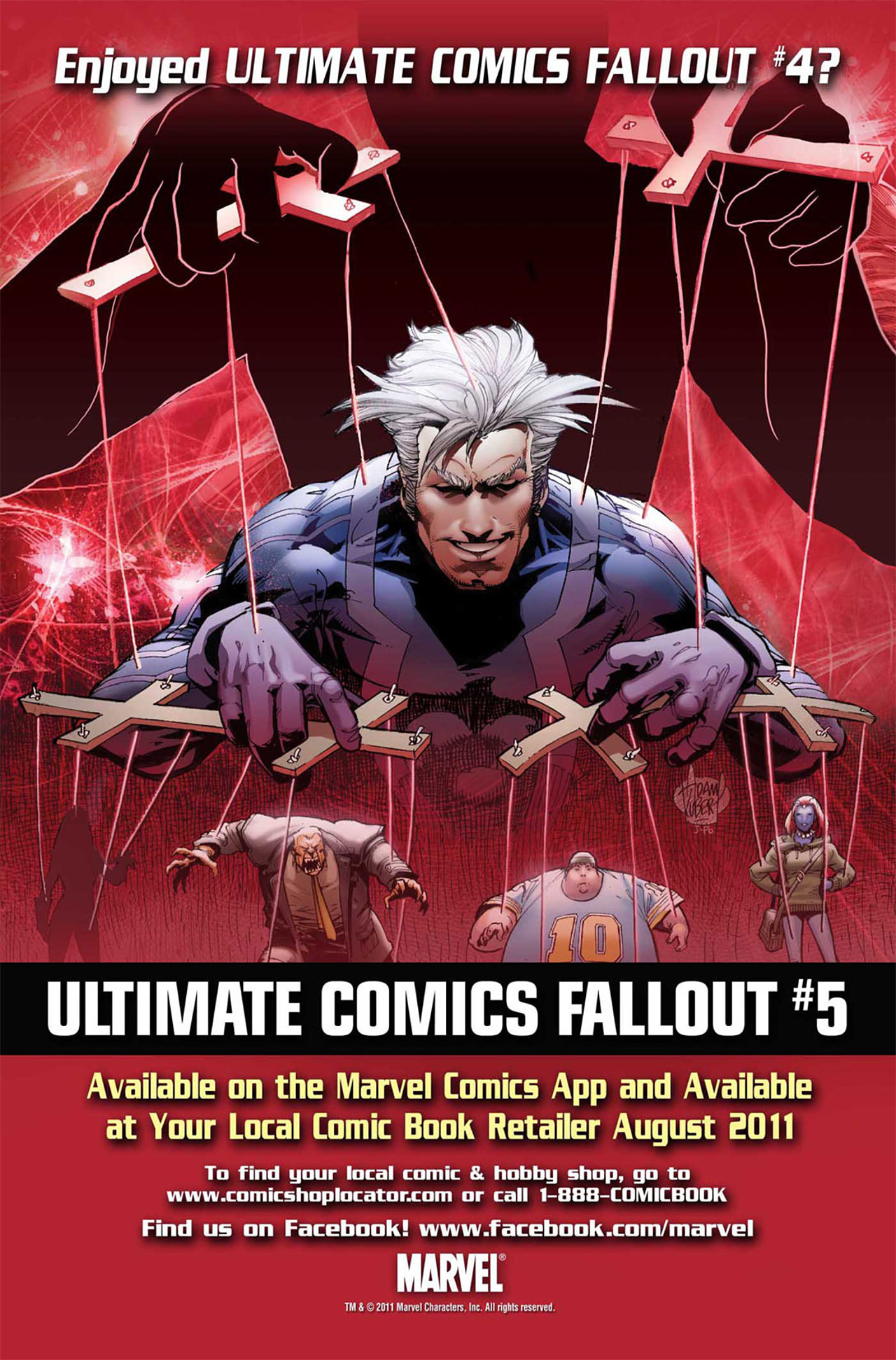 Read online Ultimate Fallout comic -  Issue #4 - 24