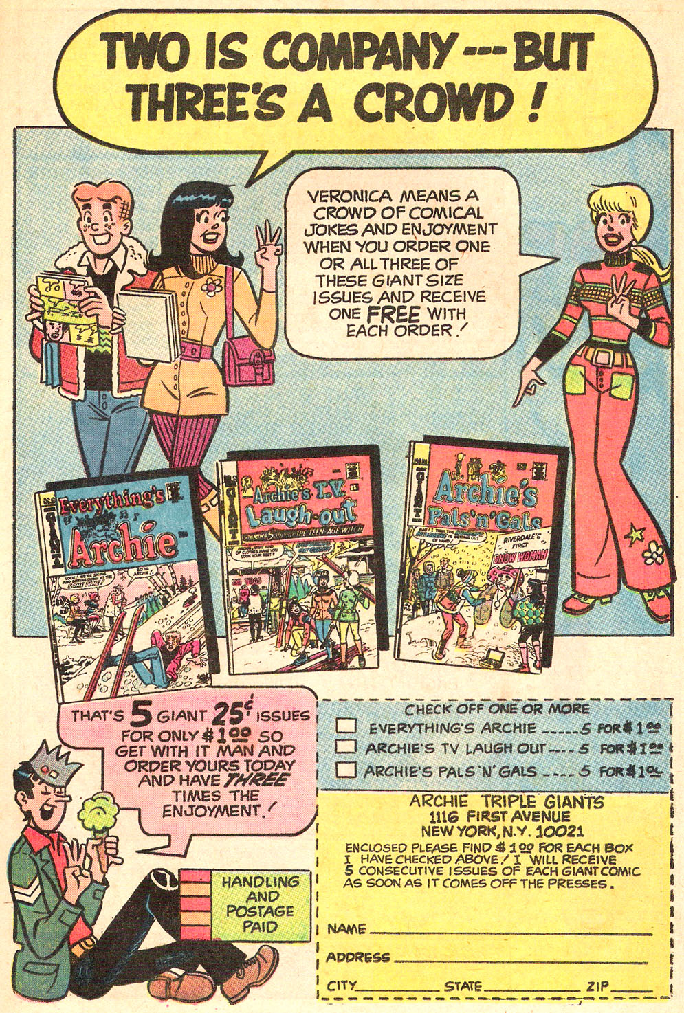 Read online Archie's Girls Betty and Veronica comic -  Issue #195 - 21