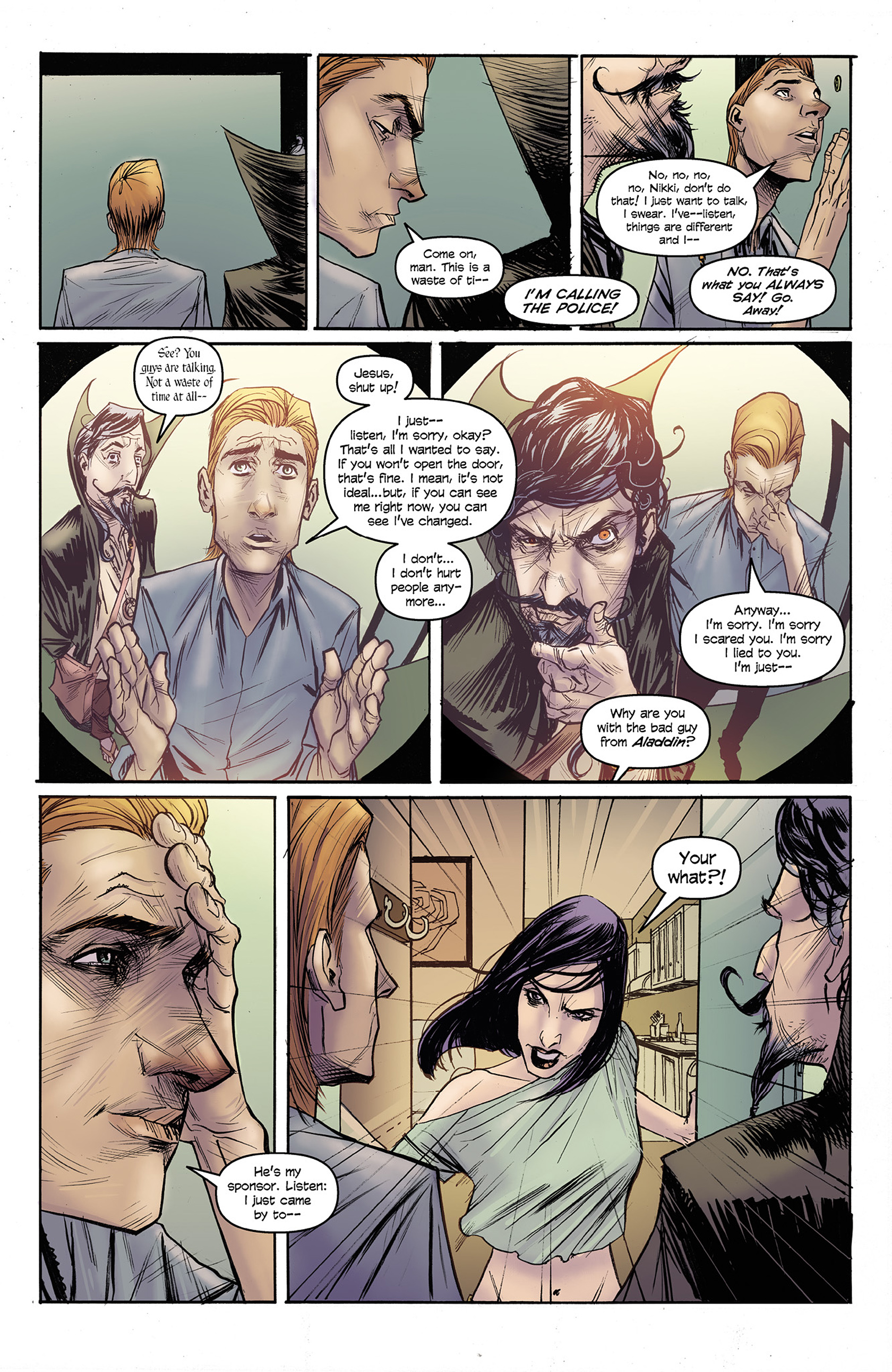 Read online Buzzkill comic -  Issue #3 - 11