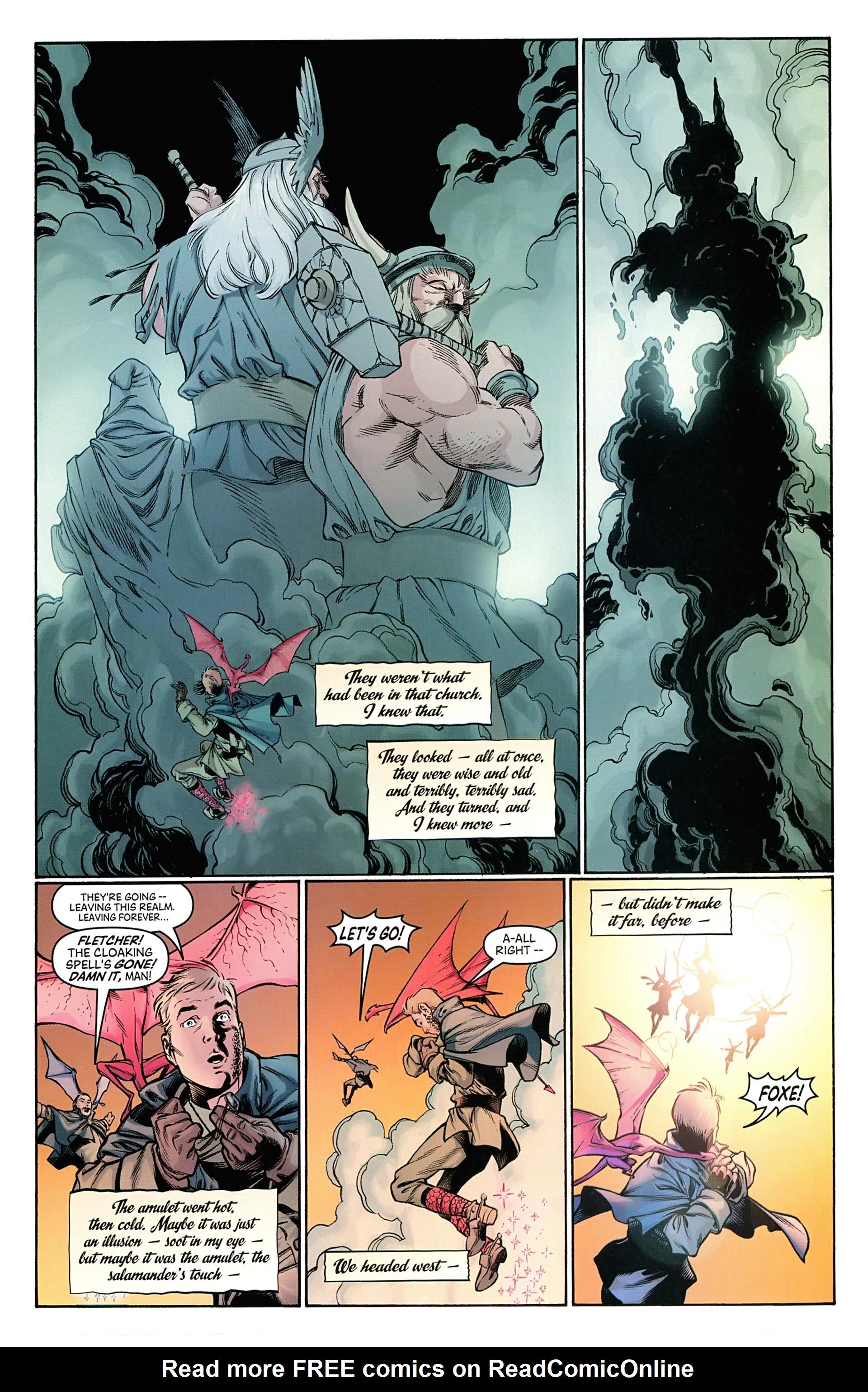 Read online Arrowsmith comic -  Issue #5 - 21