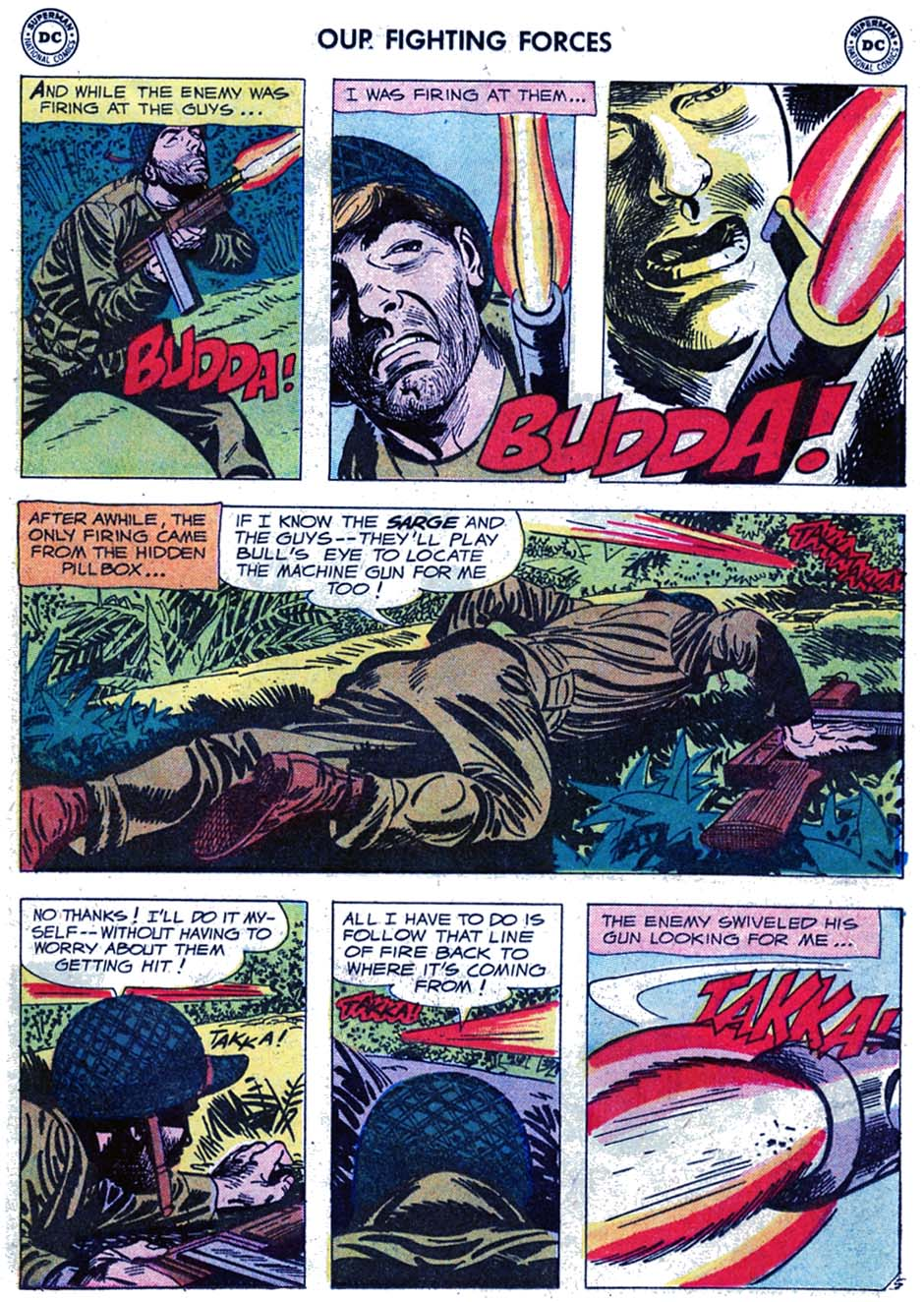 Our Fighting Forces (1954) issue 46 - Page 7