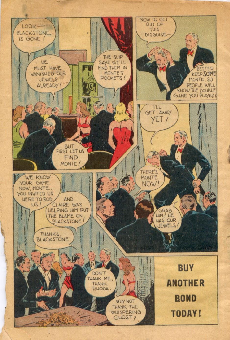 Read online Super-Magician Comics comic -  Issue #43 - 50