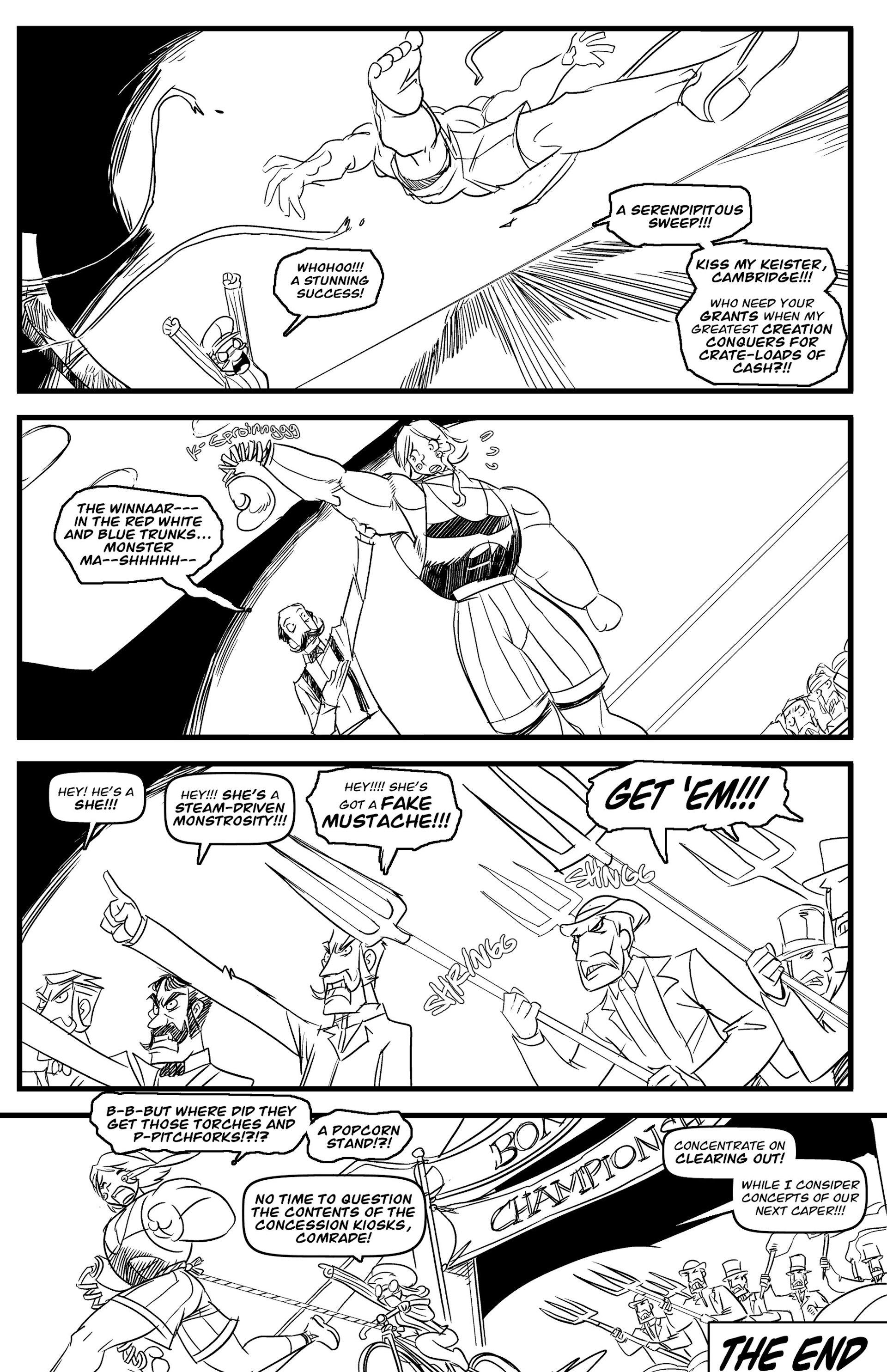 Read online Steampunk Halloween 2012 comic -  Issue # Full - 27