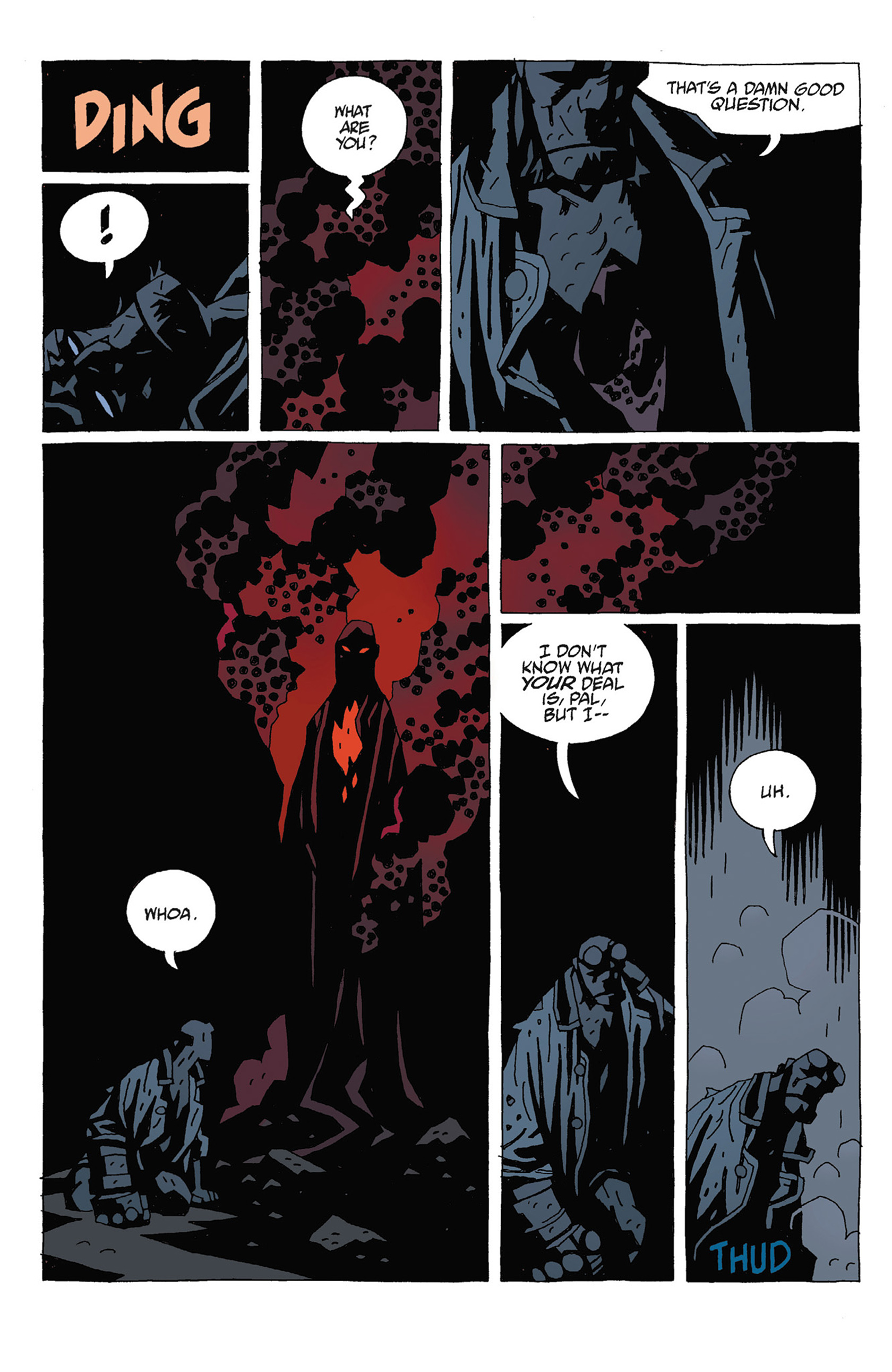 Read online Hellboy: Strange Places comic -  Issue # TPB - 98