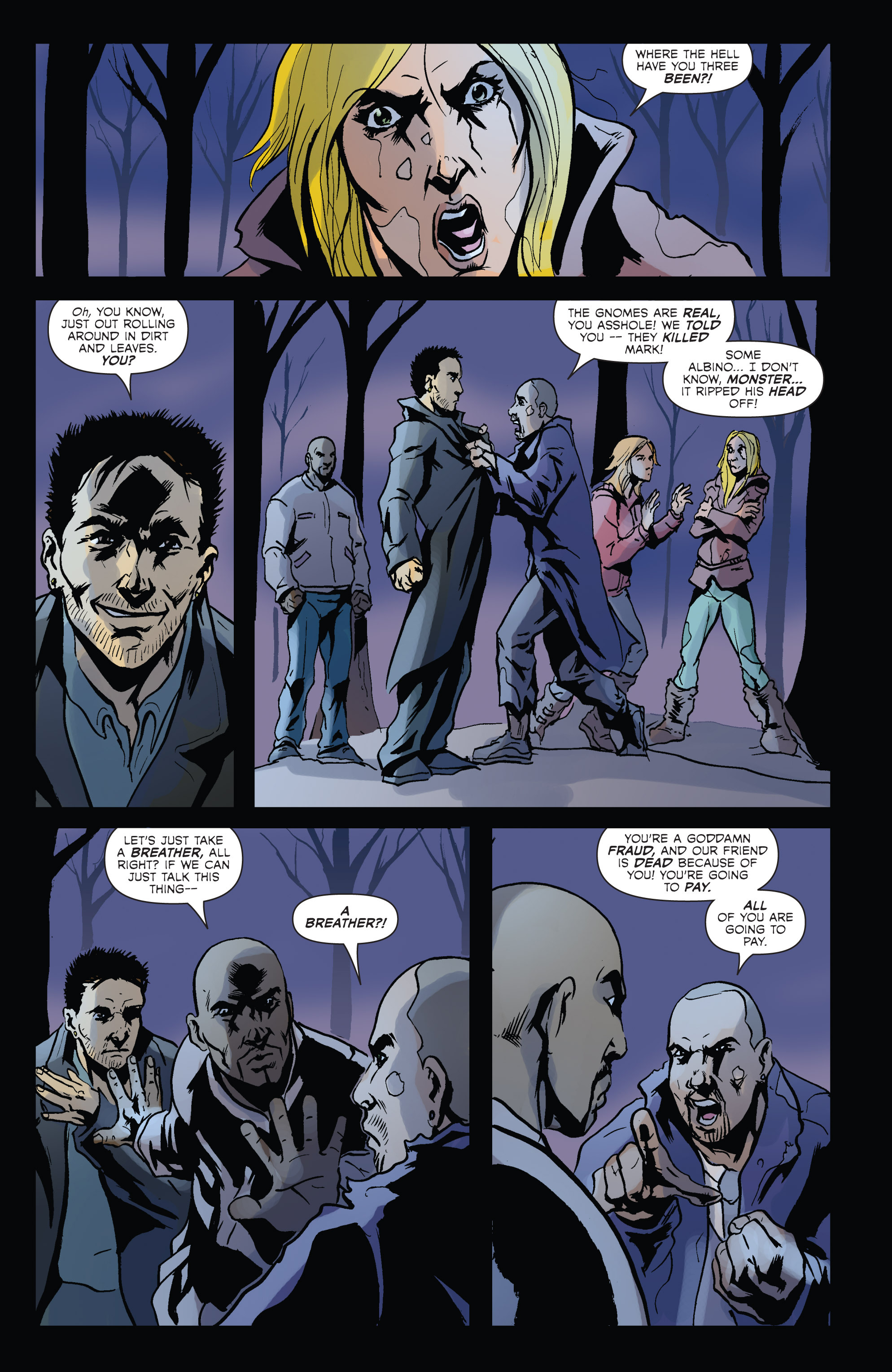 Read online Hoax Hunters (2012) comic -  Issue # TPB 2 - 38