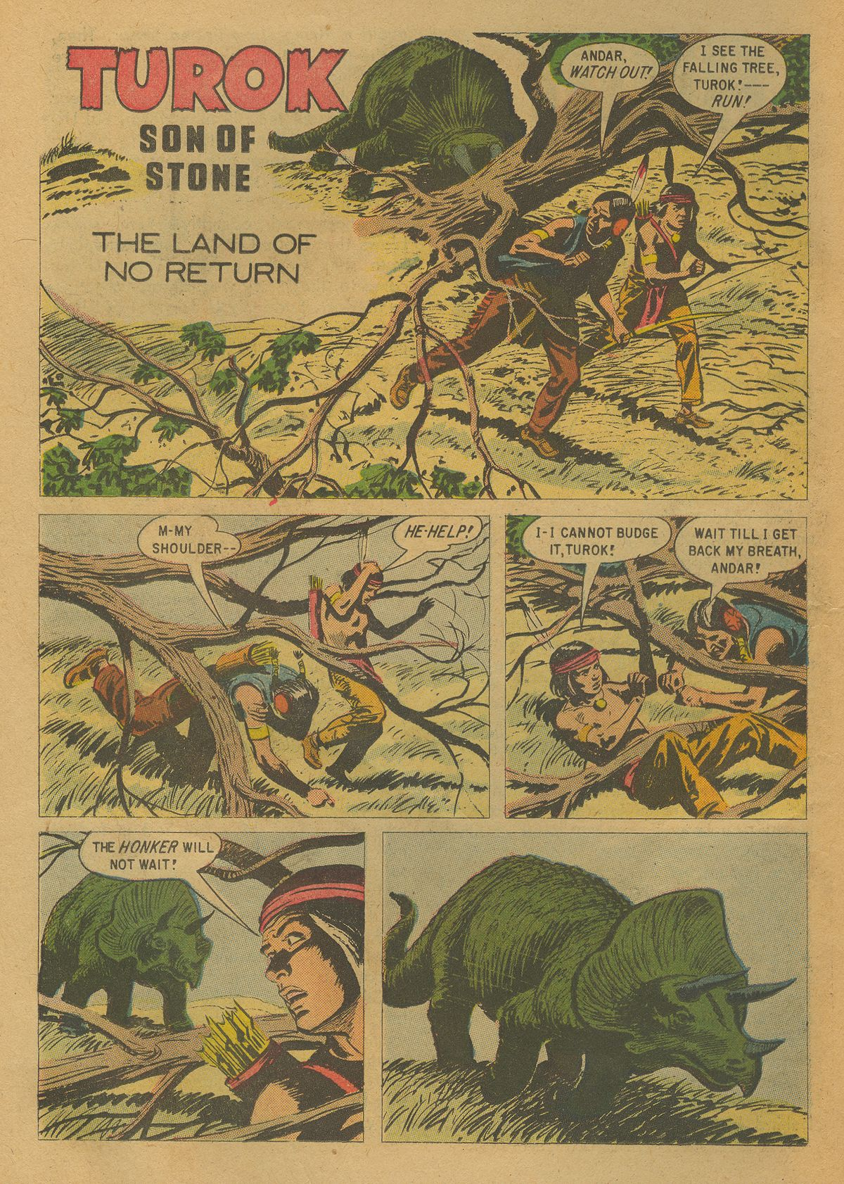 Read online Turok, Son of Stone comic -  Issue #17 - 22