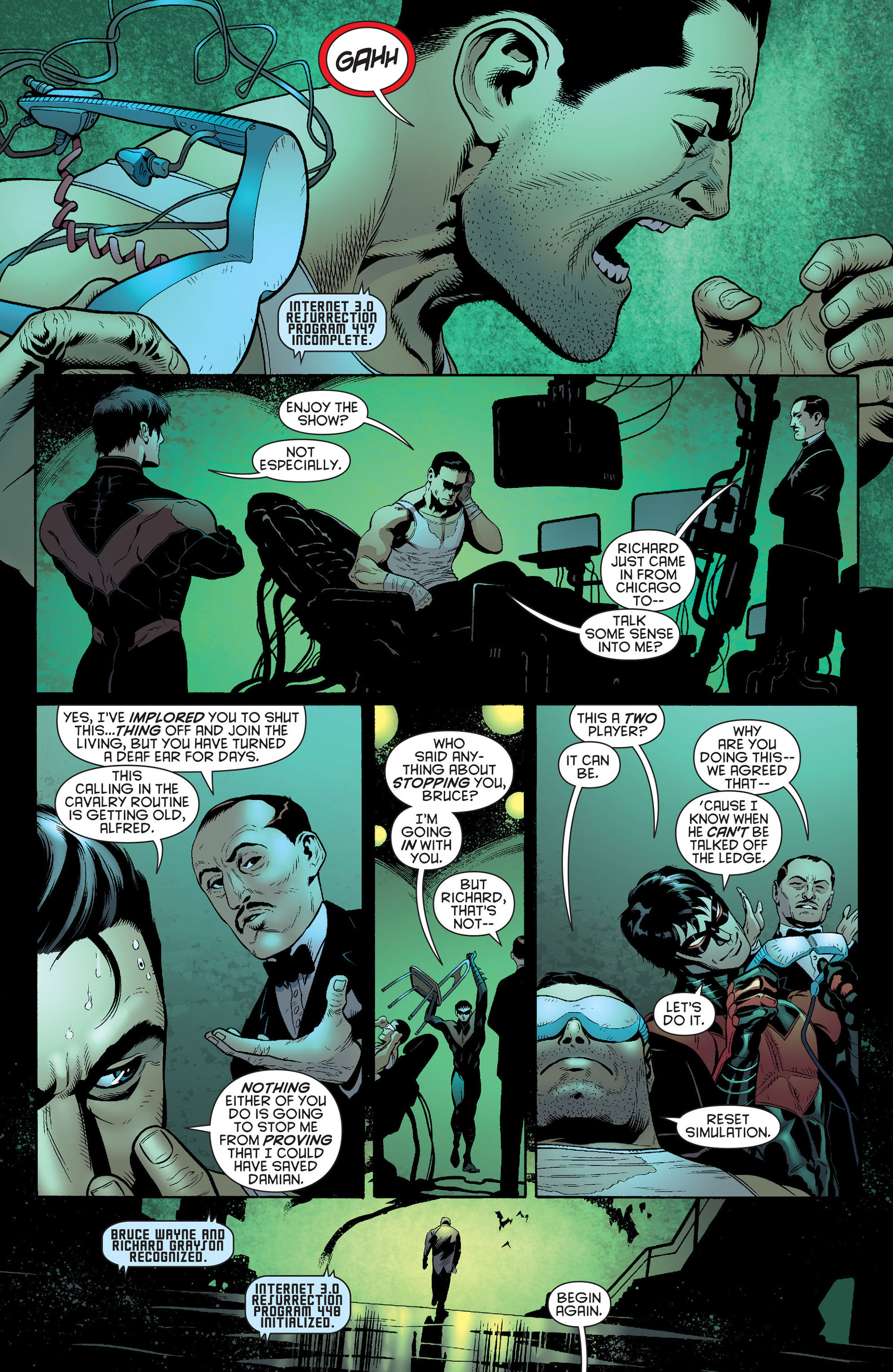Read online Batman and Robin (2011) comic -  Issue #23 - Batman and Nightwing - 9
