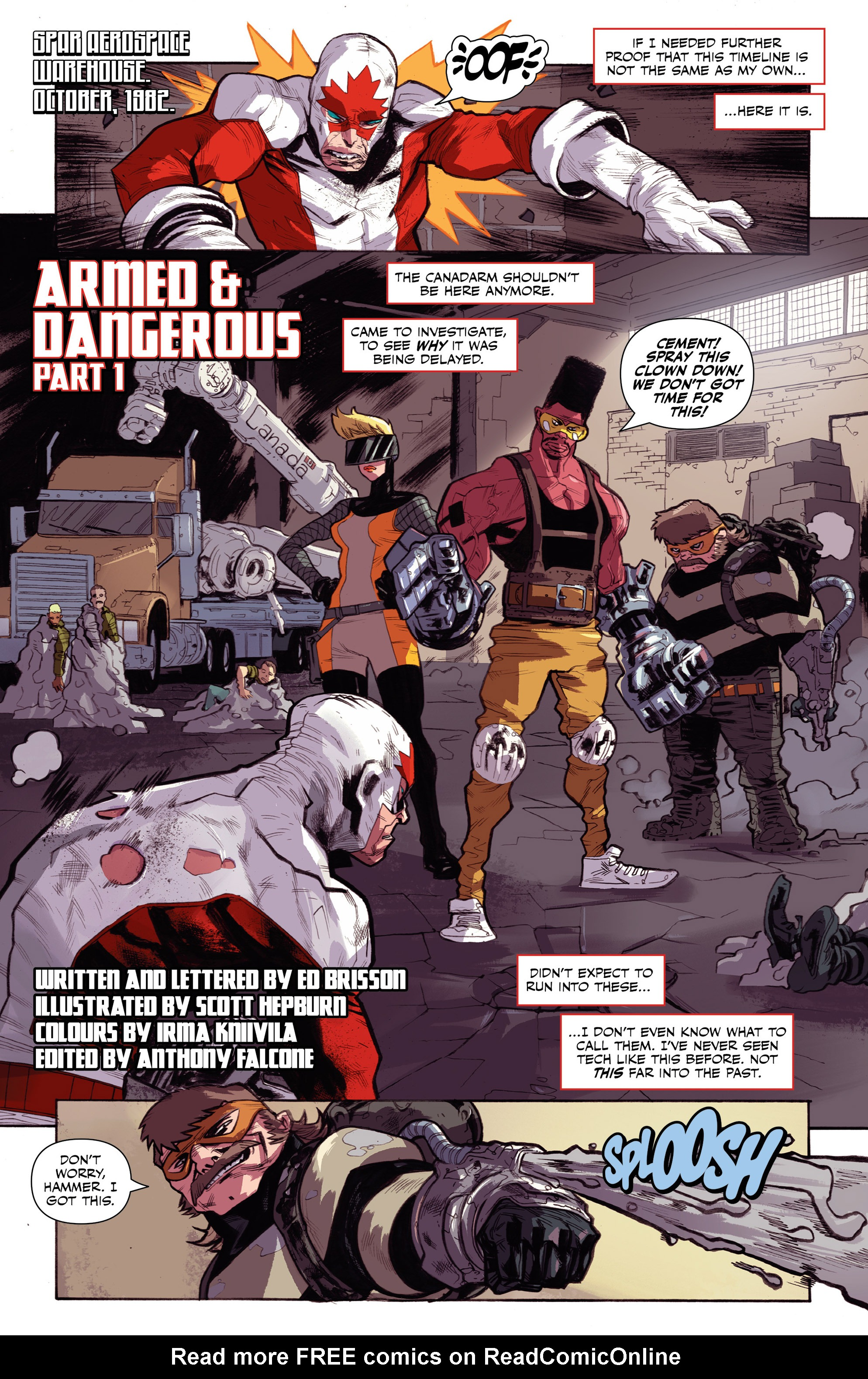 Read online All-New Classic Captain Canuck comic -  Issue #0 - 23