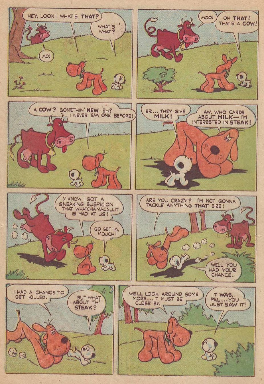 Read online Animal Comics comic -  Issue #28 - 18