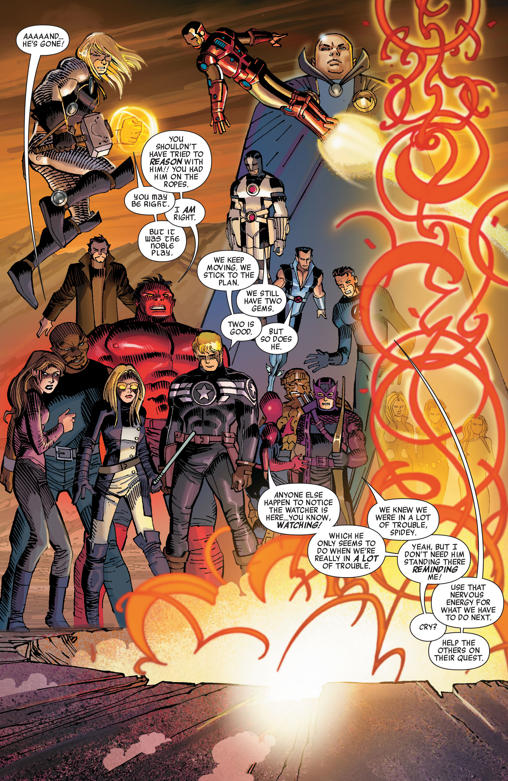 Read online Avengers (2010) comic -  Issue #11 - 16