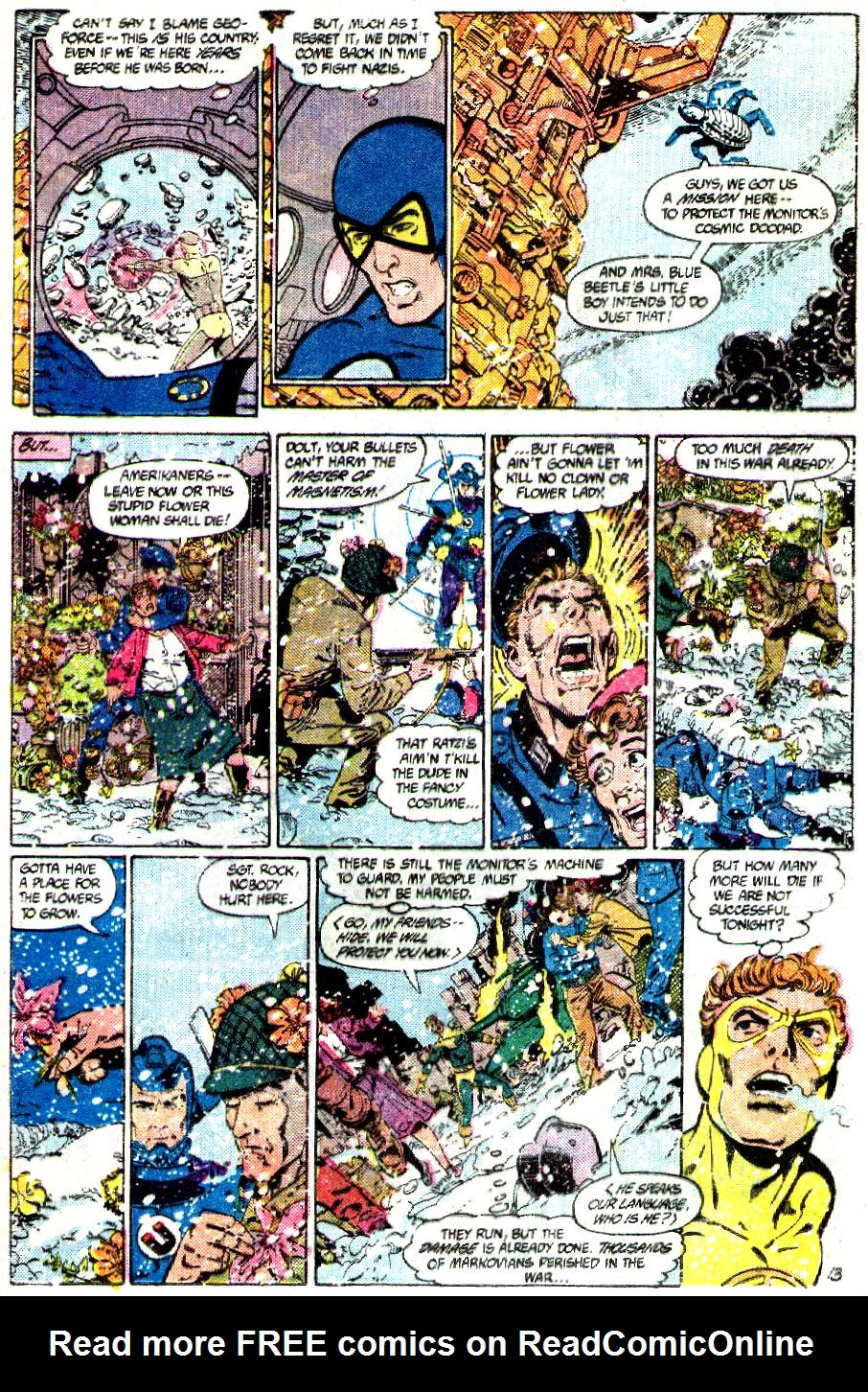 Read online Crisis on Infinite Earths (1985) comic -  Issue #3 - 14