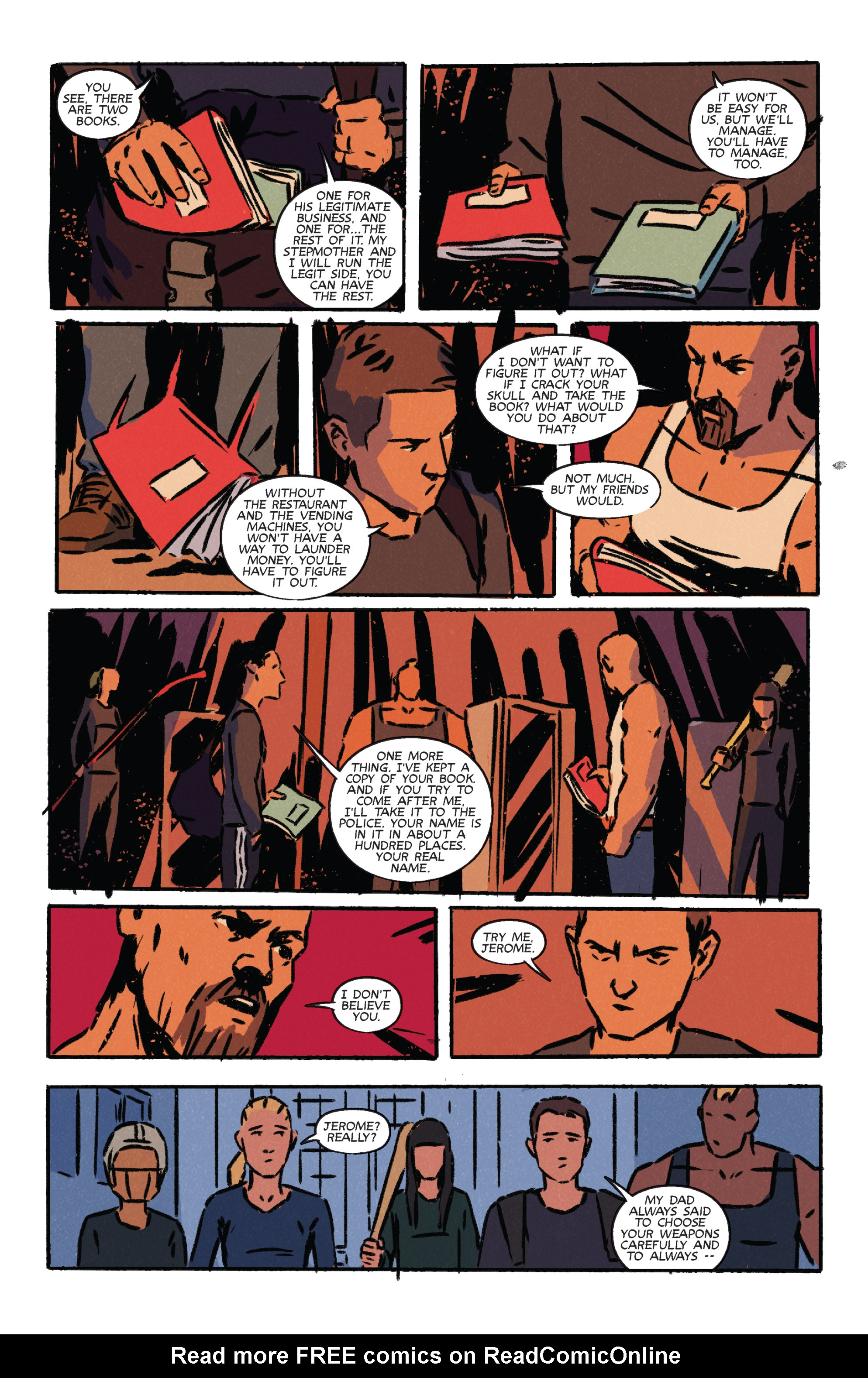 Read online Night Owl Society comic -  Issue #3 - 27