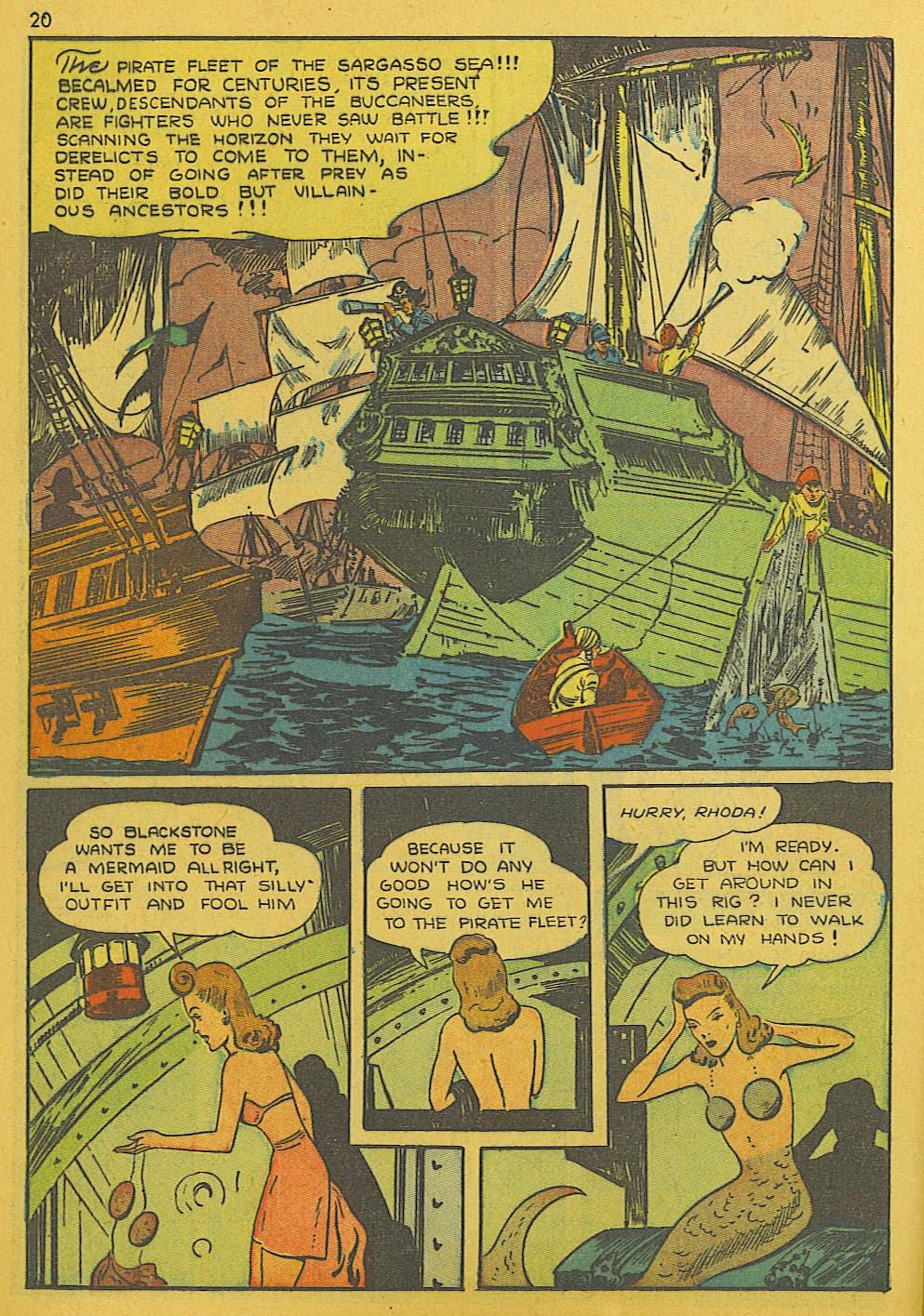 Read online Super-Magician Comics comic -  Issue #10 - 20