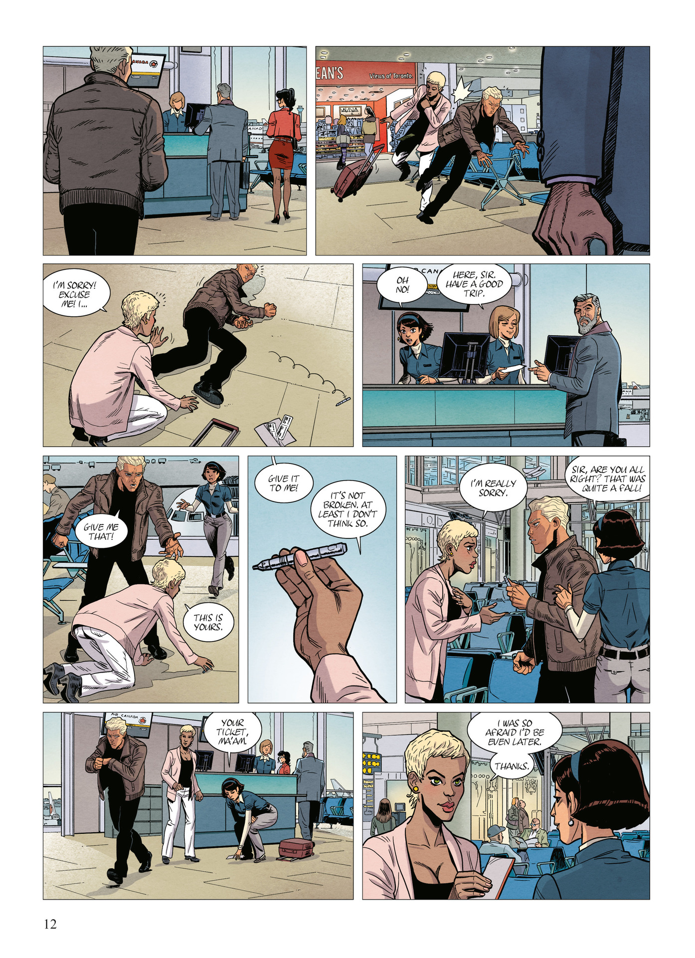 Read online Alter Ego comic -  Issue #10 - 13