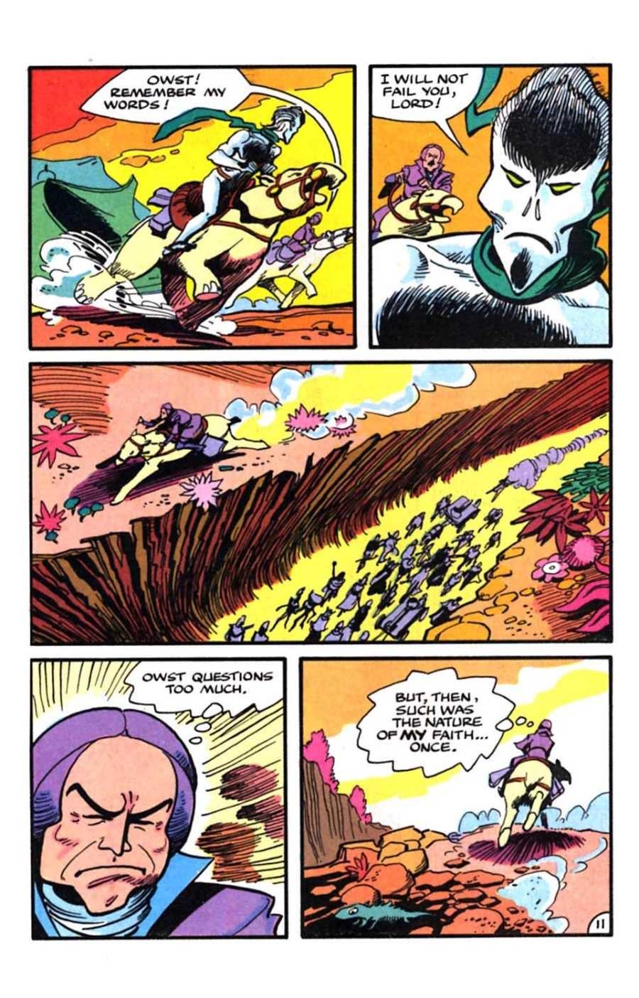 Read online Mars comic -  Issue #9 - 13
