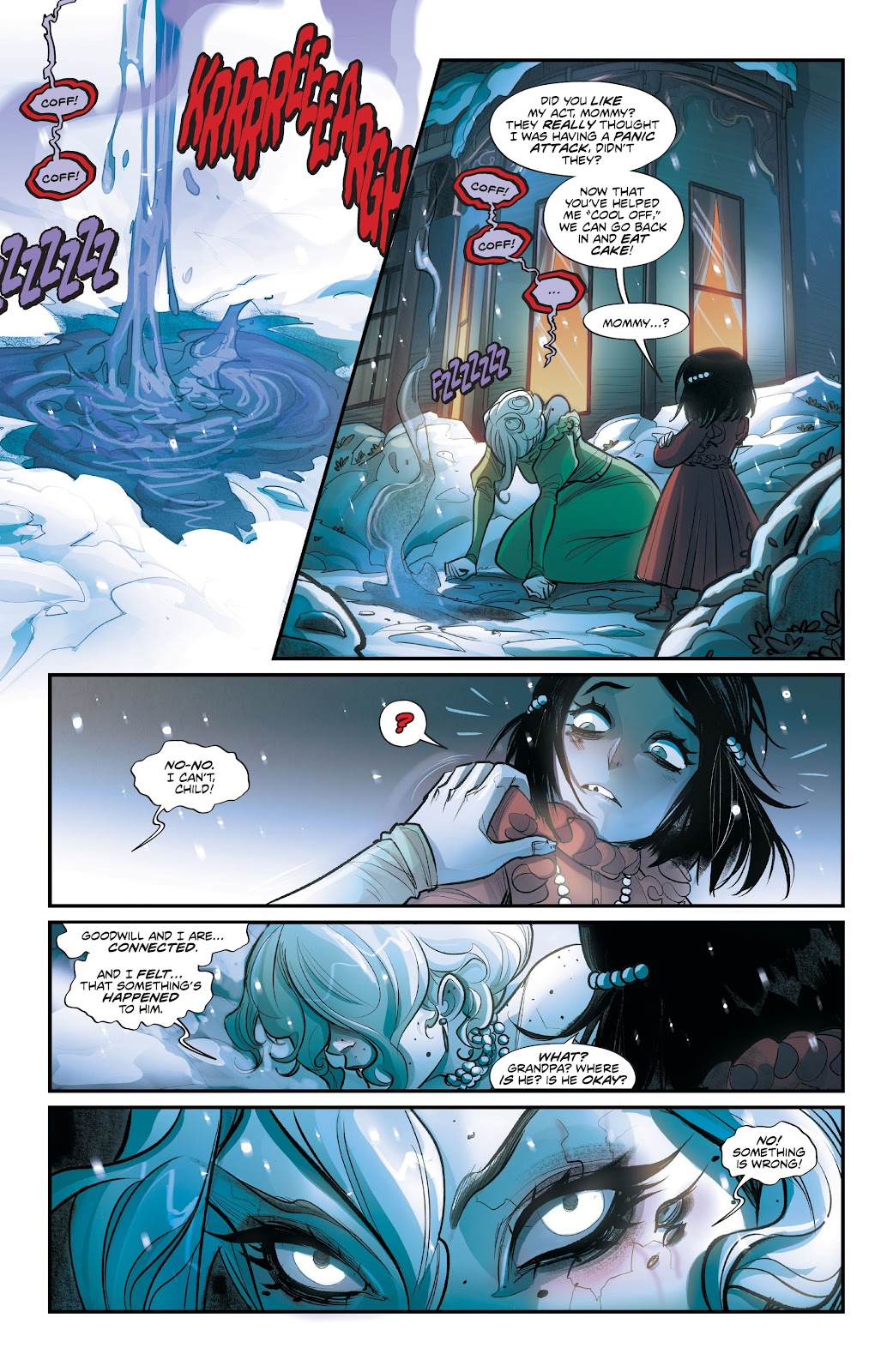 Read online Mirka Andolfo's Mercy comic -  Issue #3 - 28
