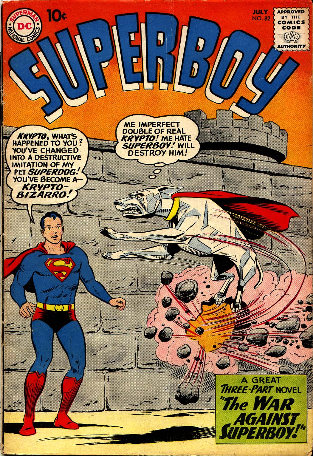 Superboy (1949) issue 82 - Page 1
