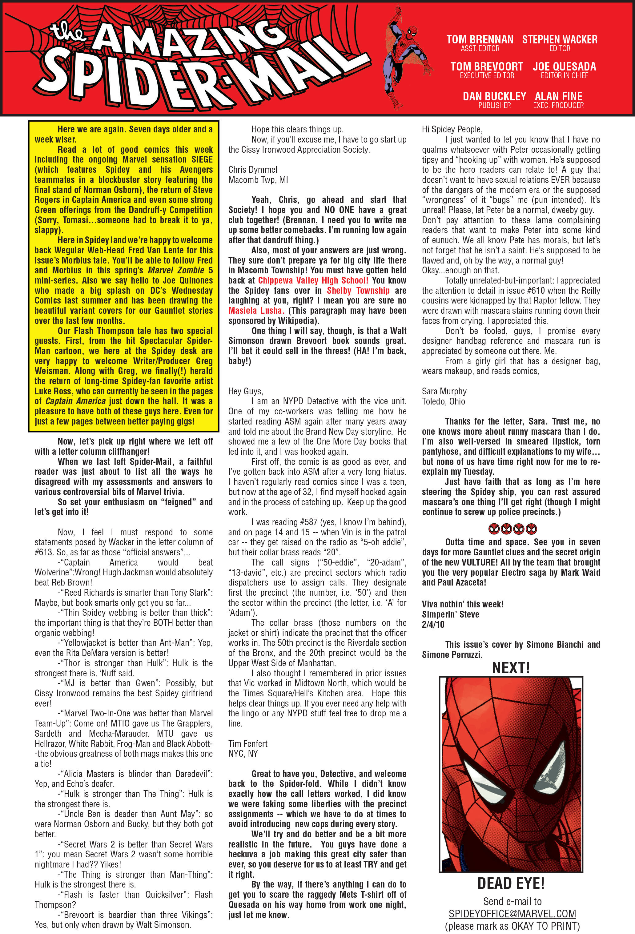The Amazing Spider-Man (1963) 622 Page 34