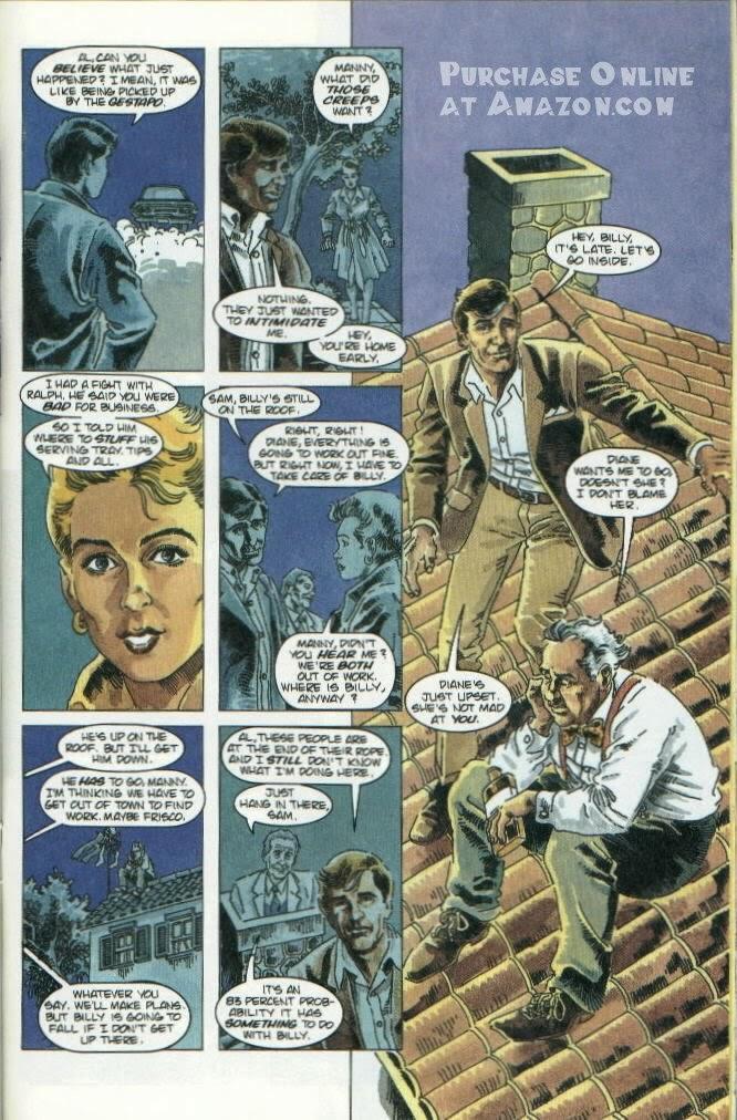 Read online Quantum Leap comic -  Issue #10 - 11