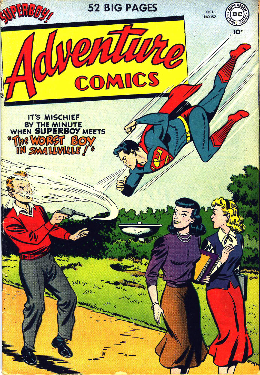 Read online Adventure Comics (1938) comic -  Issue #157 - 1