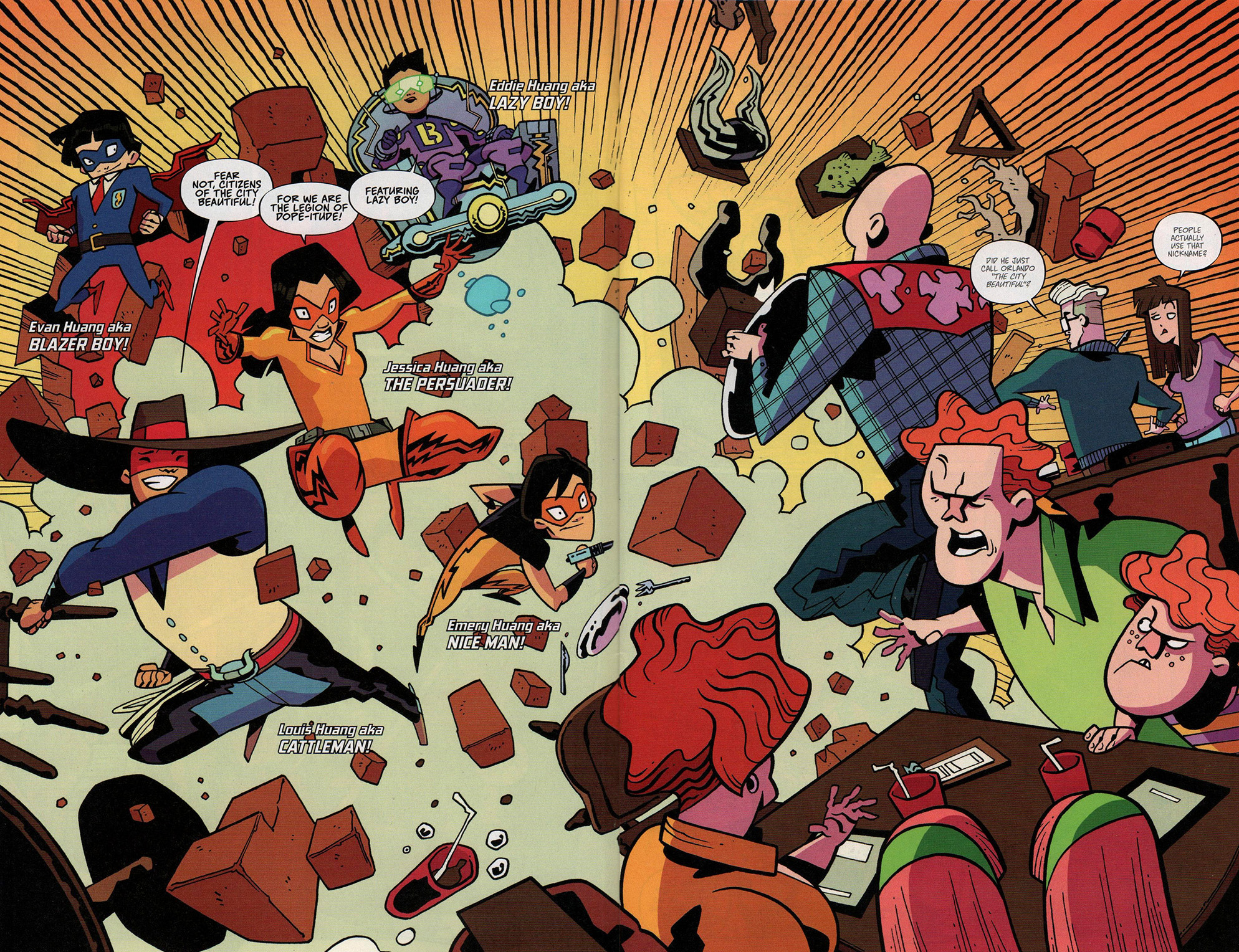 Read online Free Comic Book Day 2017 comic -  Issue # Fresh Off The Boat - 6