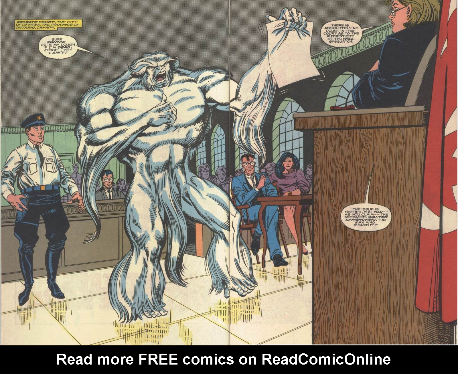 Read online Alpha Flight (1983) comic -  Issue #64 - 4