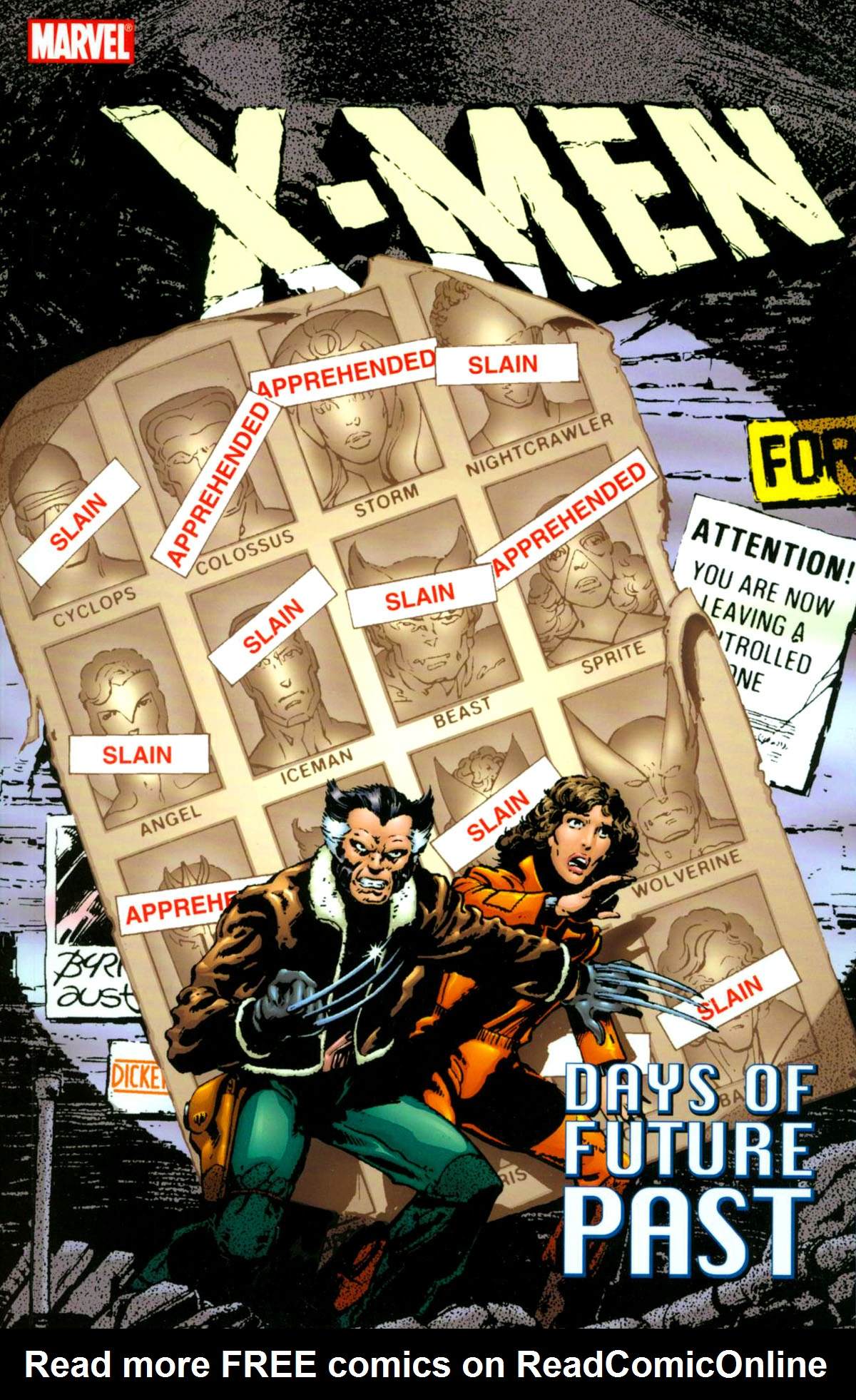 X-Men: Days of Future Past issue TPB - Page 1