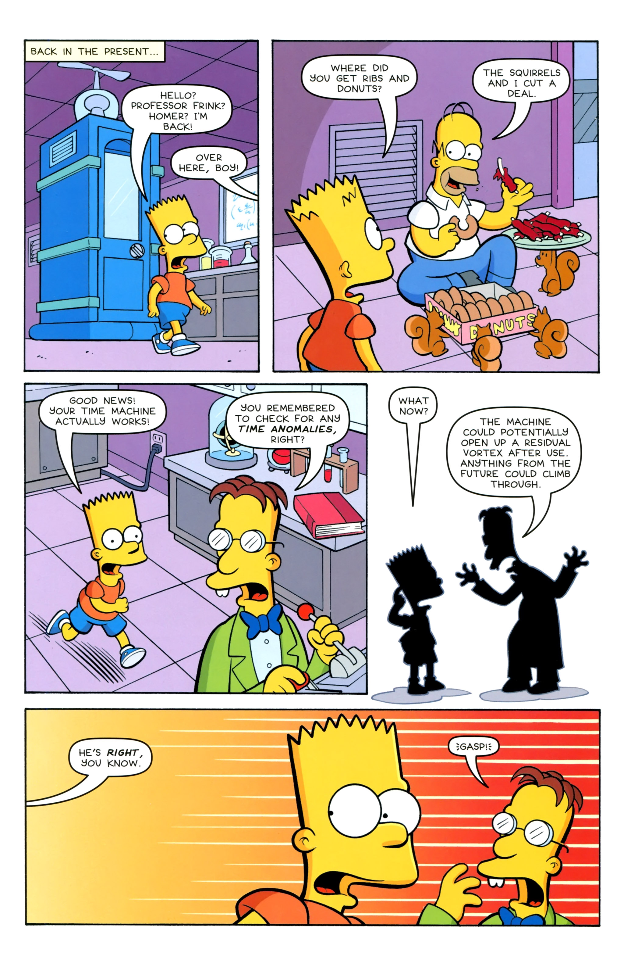 Read online Simpsons Comics Presents Bart Simpson comic -  Issue #100 - 13